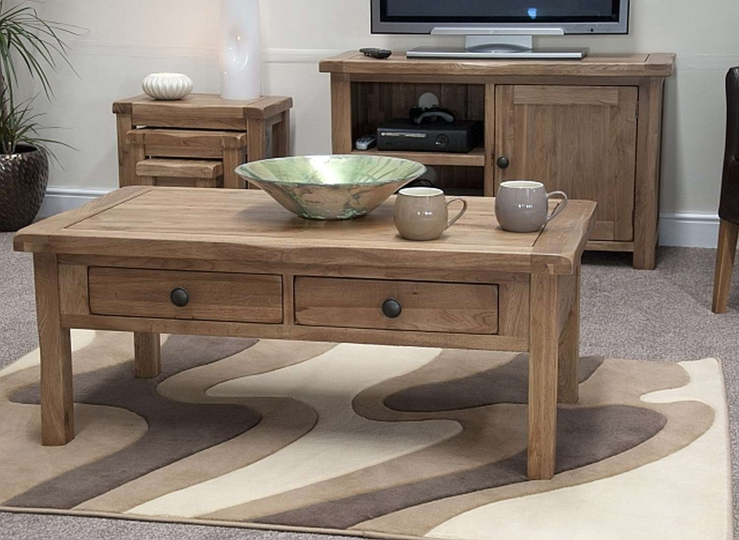 Favorite Coffee Table With Matching End Tables In Rustic Coffee Tables And End Tables Cheap At Walmart – Wood Coffee (View 8 of 20)