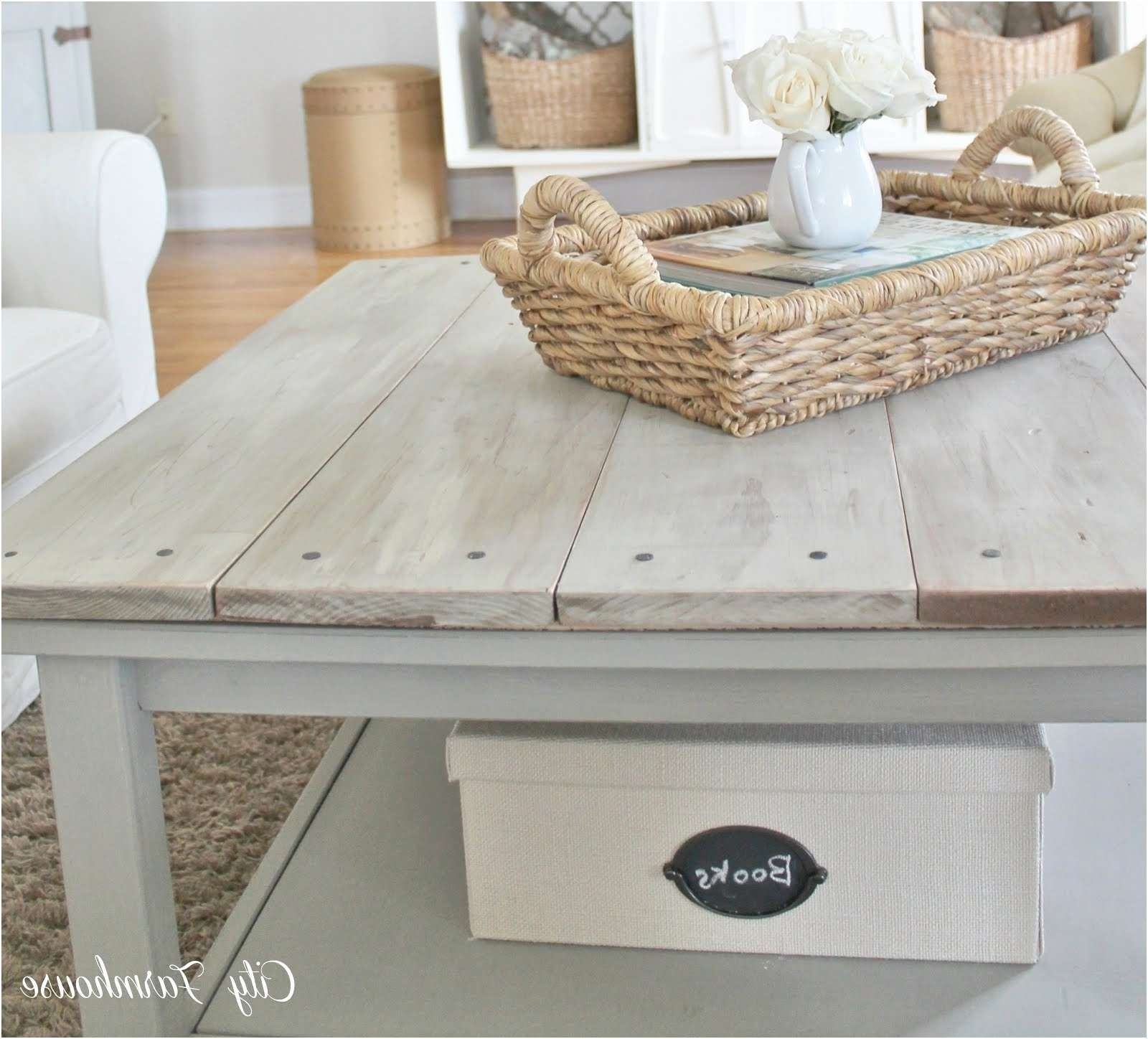Favorite Grey Wash Wood Coffee Tables Pertaining To Coffee Tables : Grey Wood Coffee Table Elegant Parsons Reclaimed (View 5 of 20)