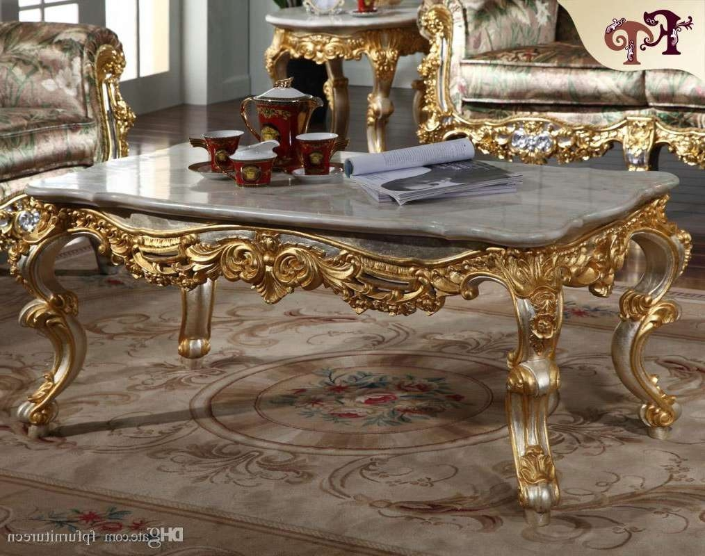 Favorite Italian Coffee Tables Within 2018 Antique Baroque Living Room Furniture French Classic Coffee (View 4 of 20)