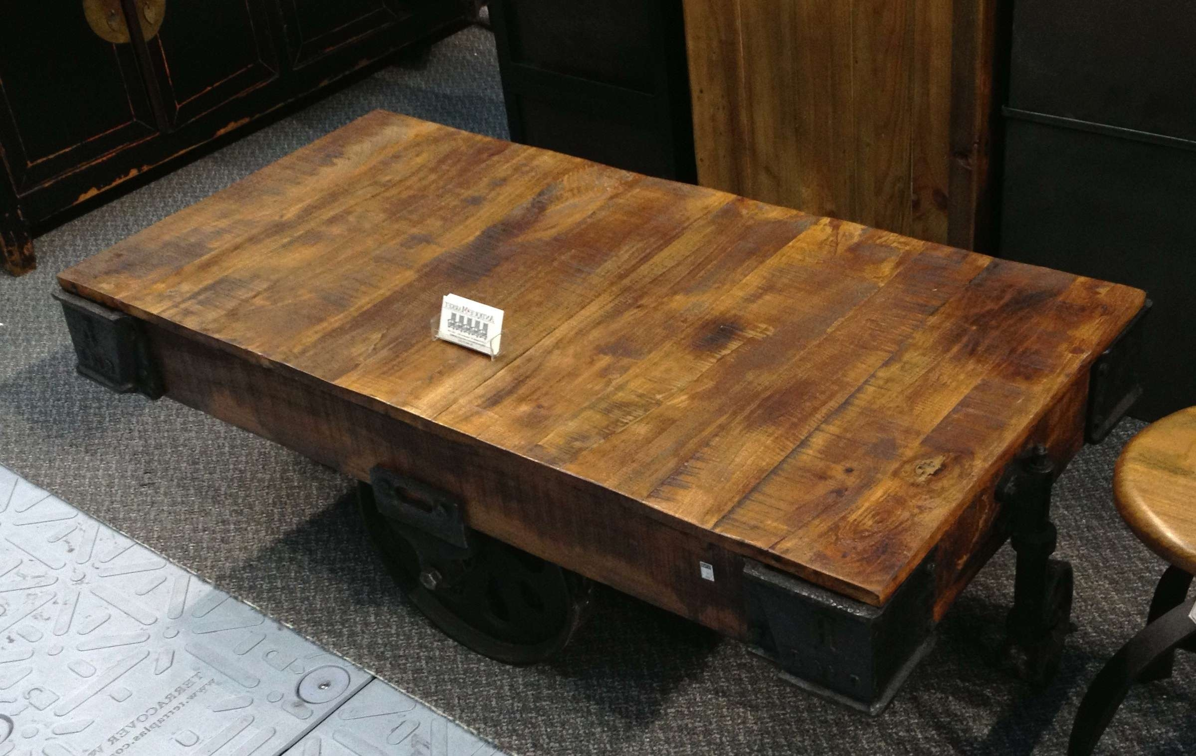 Favorite Large Wood Coffee Tables With Coffee Tables : Cocktail Tables For Sale Large Side Table Granite (View 14 of 20)