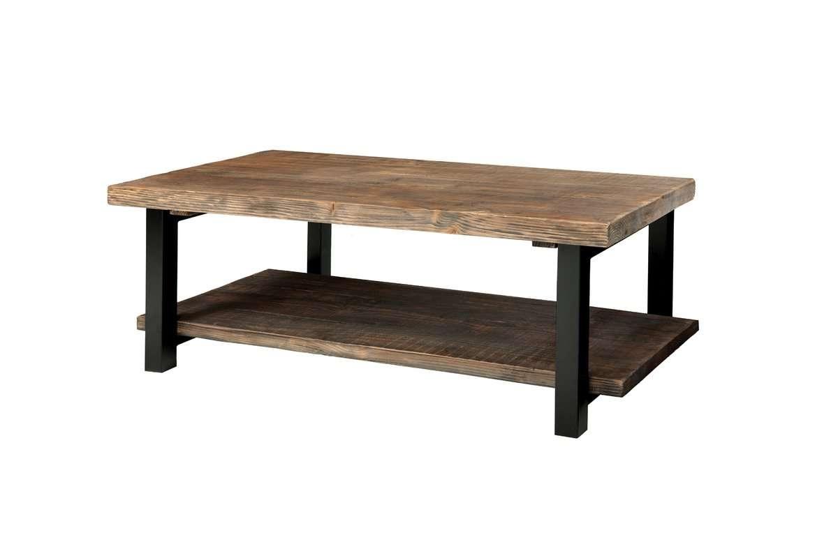 """Favorite Metal Coffee Tables Regarding Loon Peak Somers 42"""" Wood/metal Coffee Table & Reviews (View 13 of 20)"""