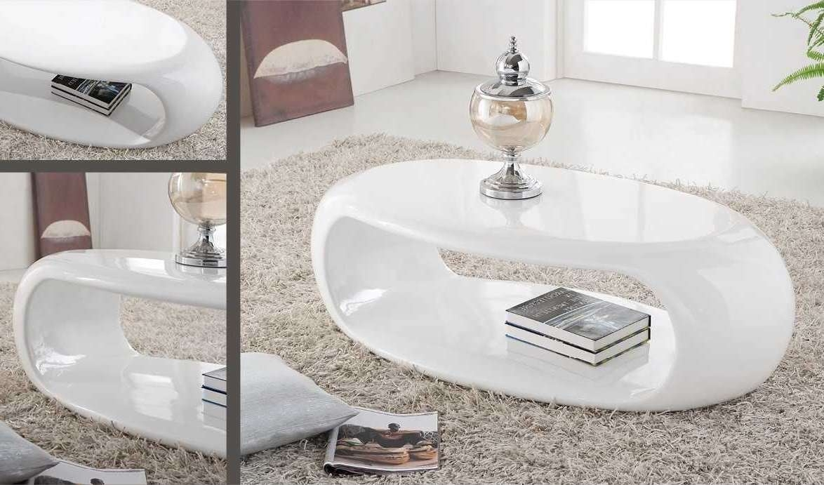 Favorite Oval Gloss Coffee Tables Regarding Oval Gloss Coffee Table White (View 12 of 20)
