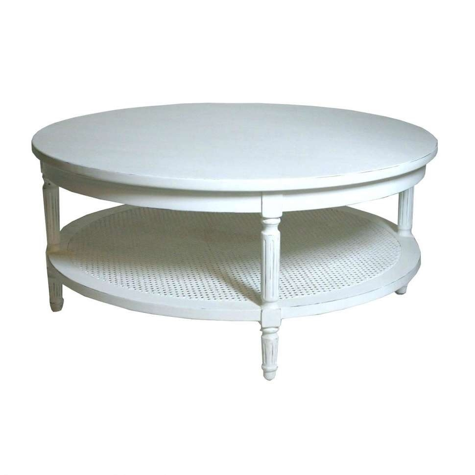 Favorite Retro White Coffee Tables With Coffee Tables : Retro High Gloss Coffee Table Vintage Round Marble (View 5 of 20)