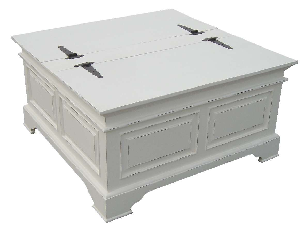 Favorite Square Chest Coffee Tables Inside Painted Coffee Table Ideas – Writehookstudio (View 4 of 20)