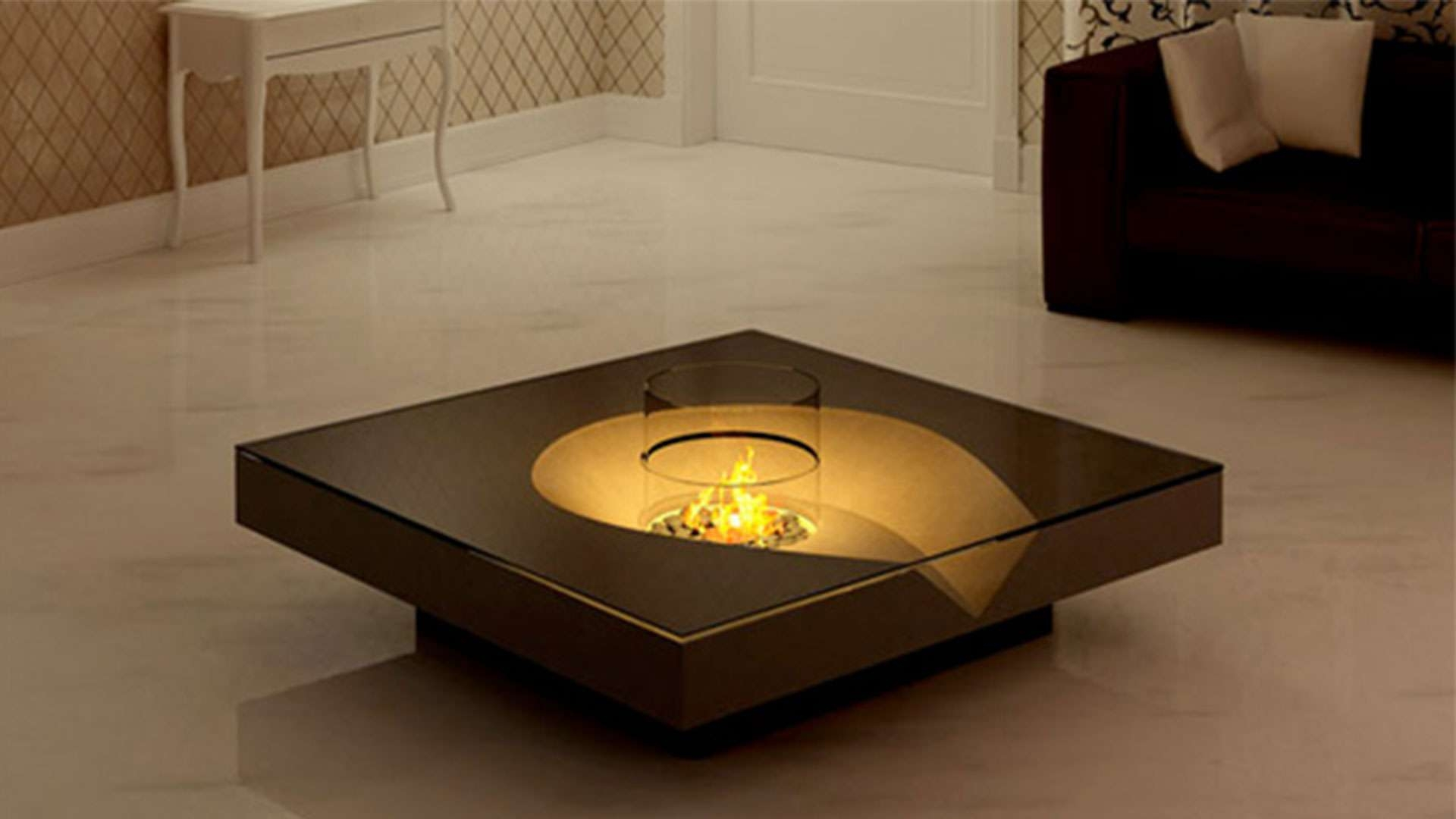 Favorite Square Shaped Coffee Tables Regarding Glass Coffee Tables: Interesting Glass Coffee And End Tables (View 8 of 20)