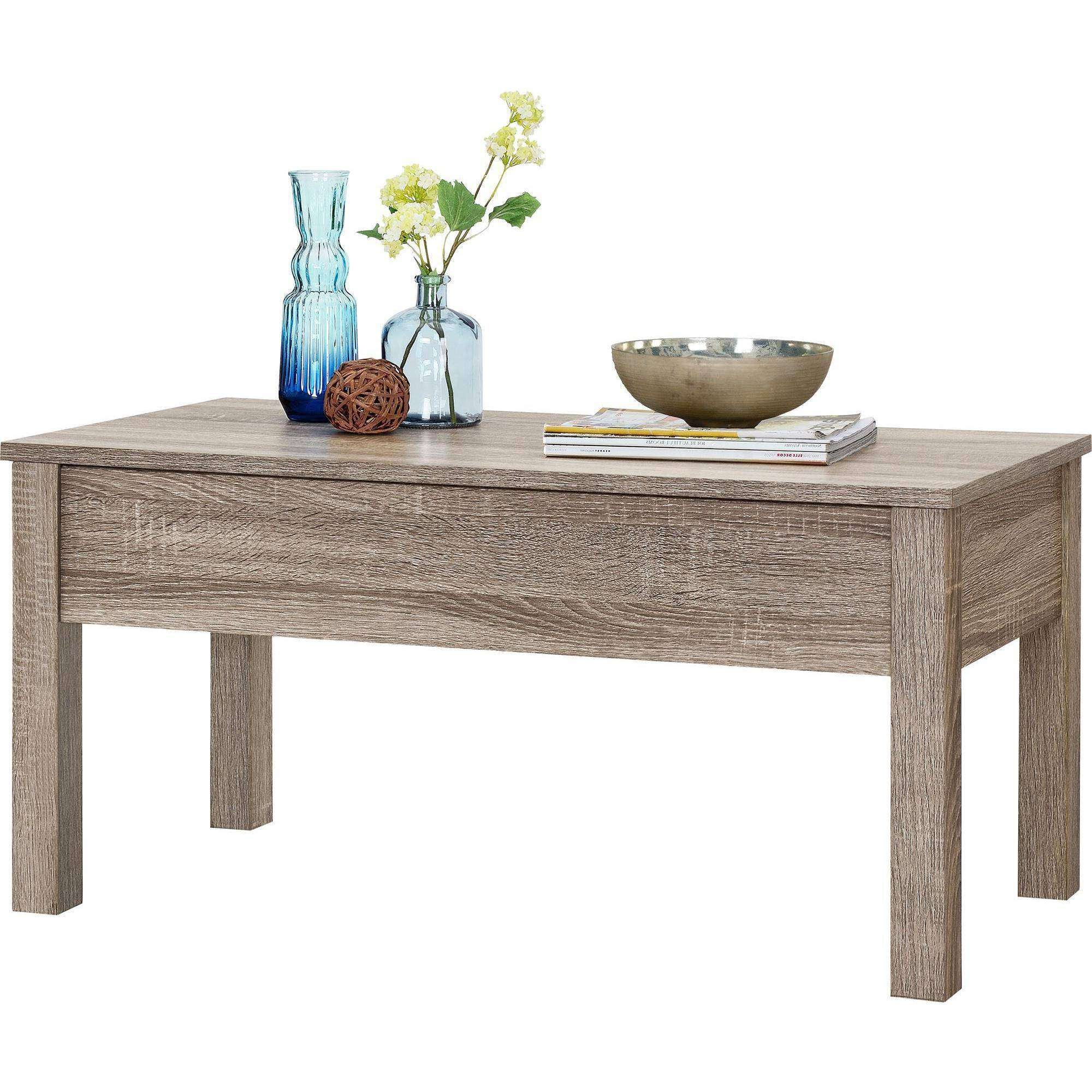 Favorite Swing Up Coffee Tables Regarding Mainstays Lift Top Coffee Table,  Multiple Colors U2013 Walmart