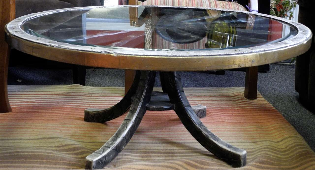 Favorite Wheels Coffee Tables With Unique Wagon Wheel Coffee Table — Home Design Ideas (View 10 of 20)