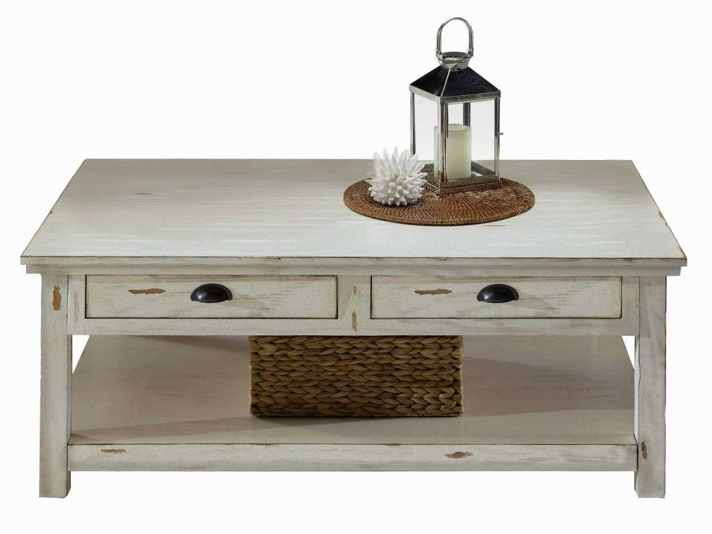 Favorite White Coffee Tables With Baskets With Distressed White Coffee Table Luxury Best 30 Of White Coffee (View 13 of 20)