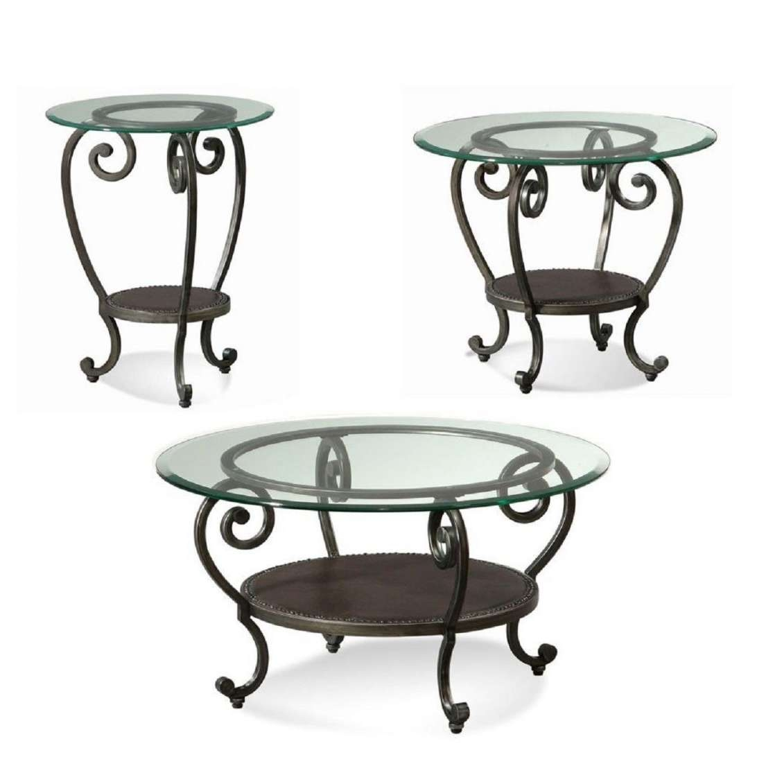Favorite Wrought Iron Coffee Tables With Regard To Wrought Iron Coffee Tables With Granite Topwrought Table Base (View 4 of 20)