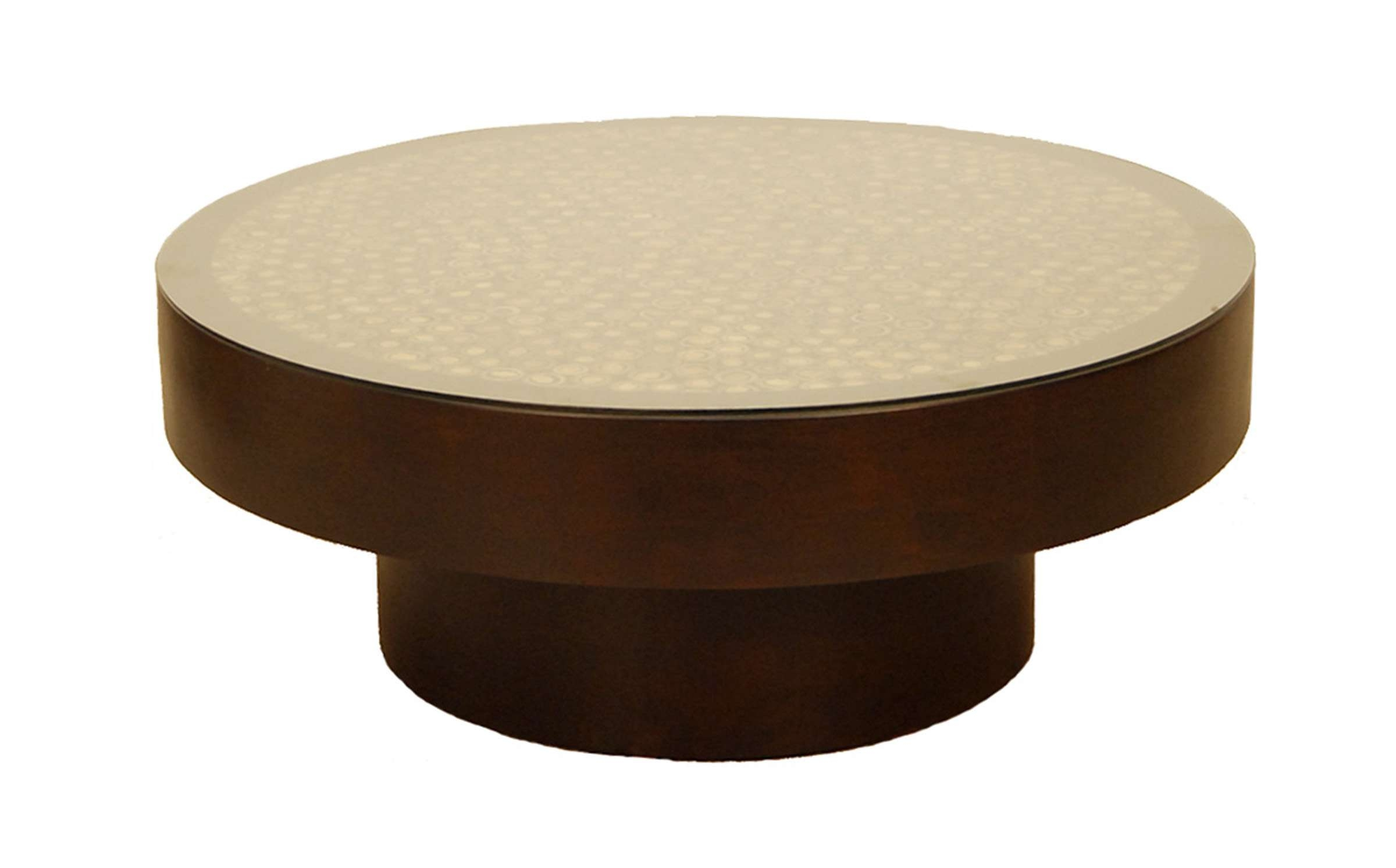 #fb 5730 1 Round Coffee Table For Latest Circular Coffee Tables (View 1 of 20)