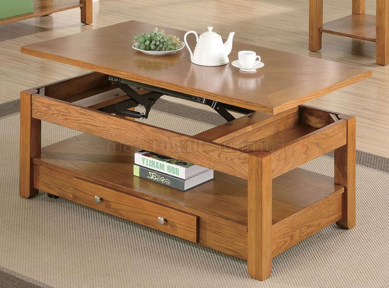 Finish Modern Lift Top Coffee Table W/options Intended For Most Popular Lift Top Oak Coffee Tables (View 10 of 20)