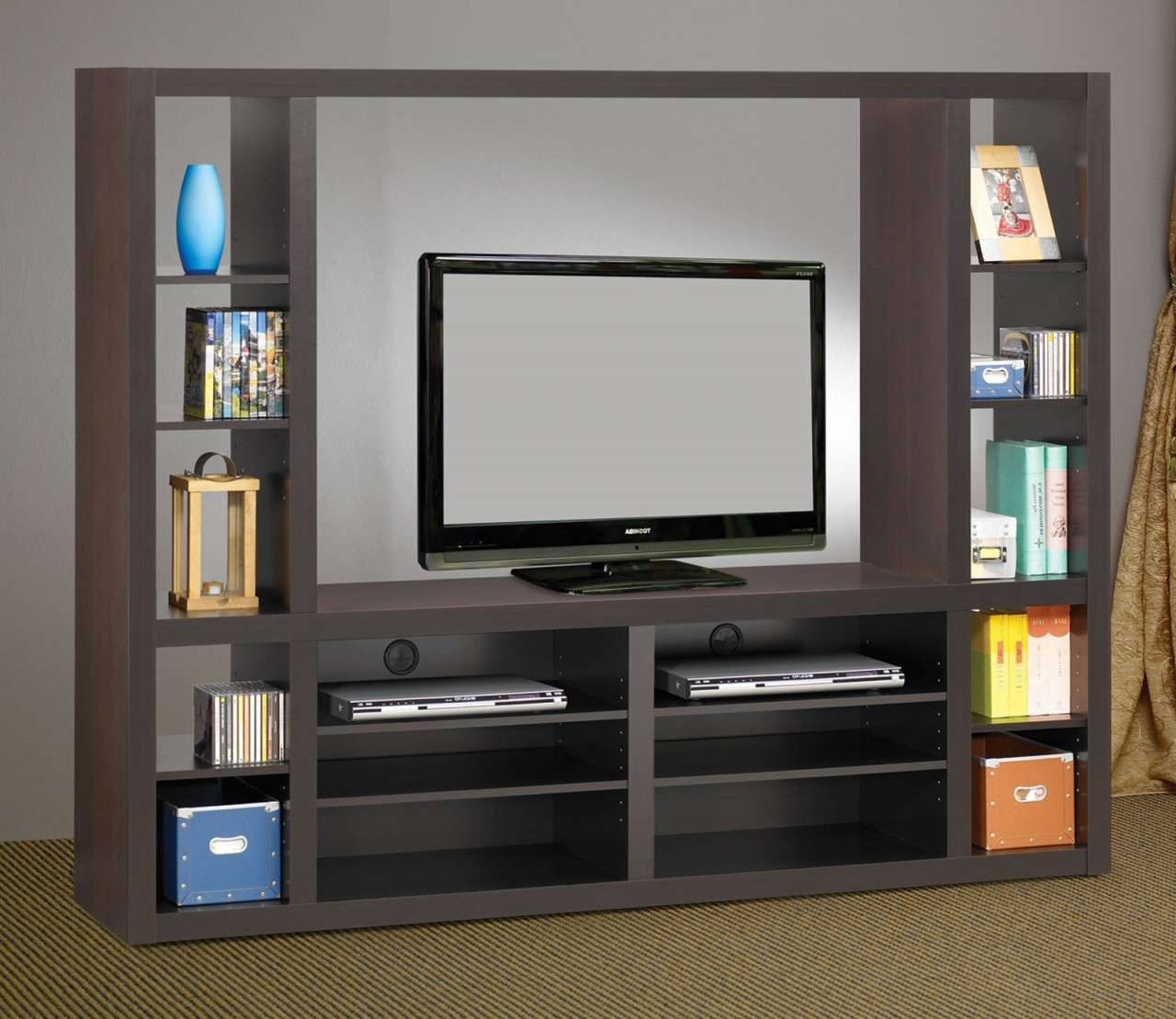 Flat Screen Tv Wall Unit Idea – Wall Units Design Ideas For Modern Tv Cabinets For Flat Screens (View 4 of 20)