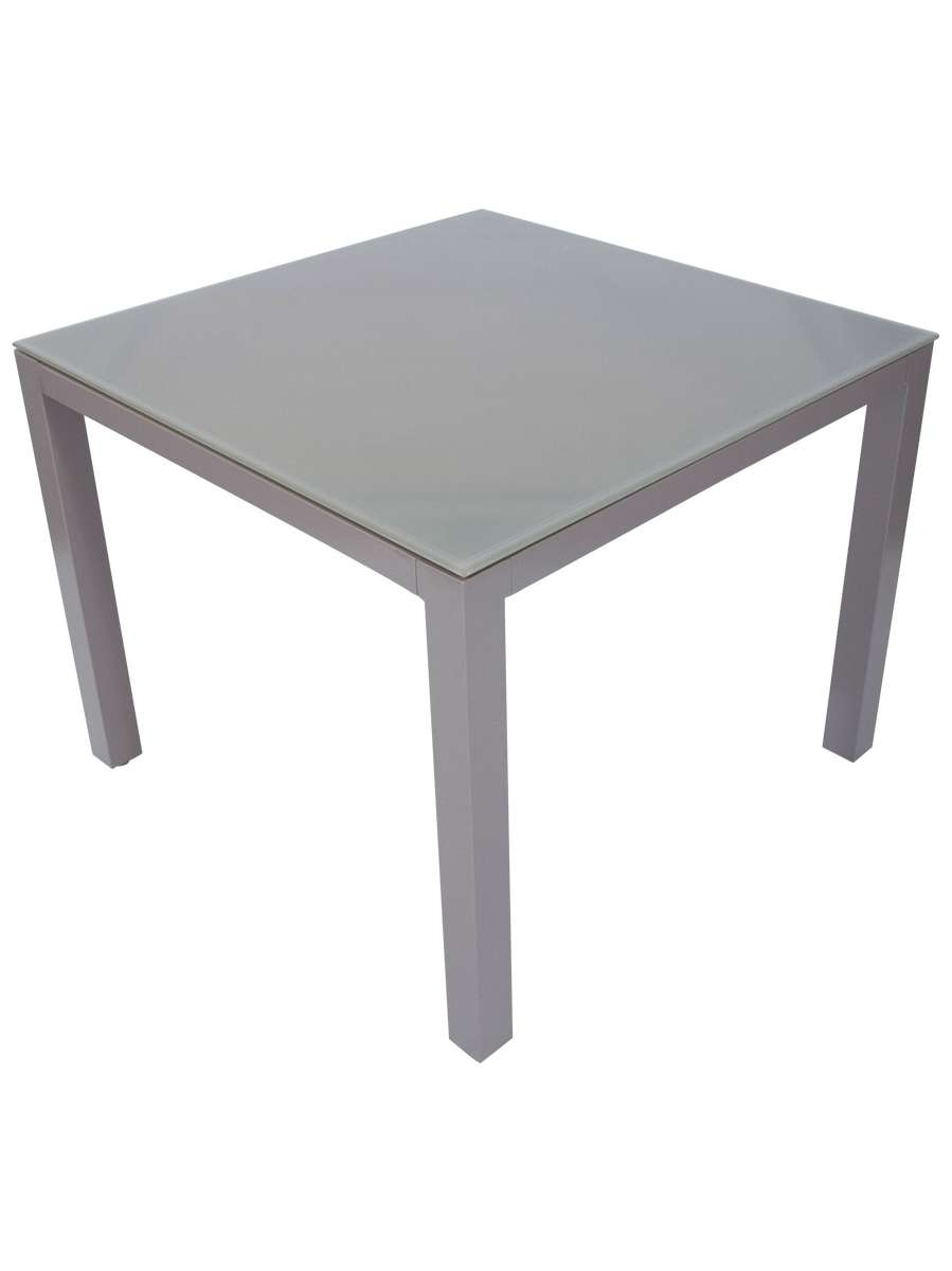 Floating Glass Top Aluminium Dining Tables' – Daydream Leisure Within Preferred Aluminium Coffee Tables (View 9 of 20)