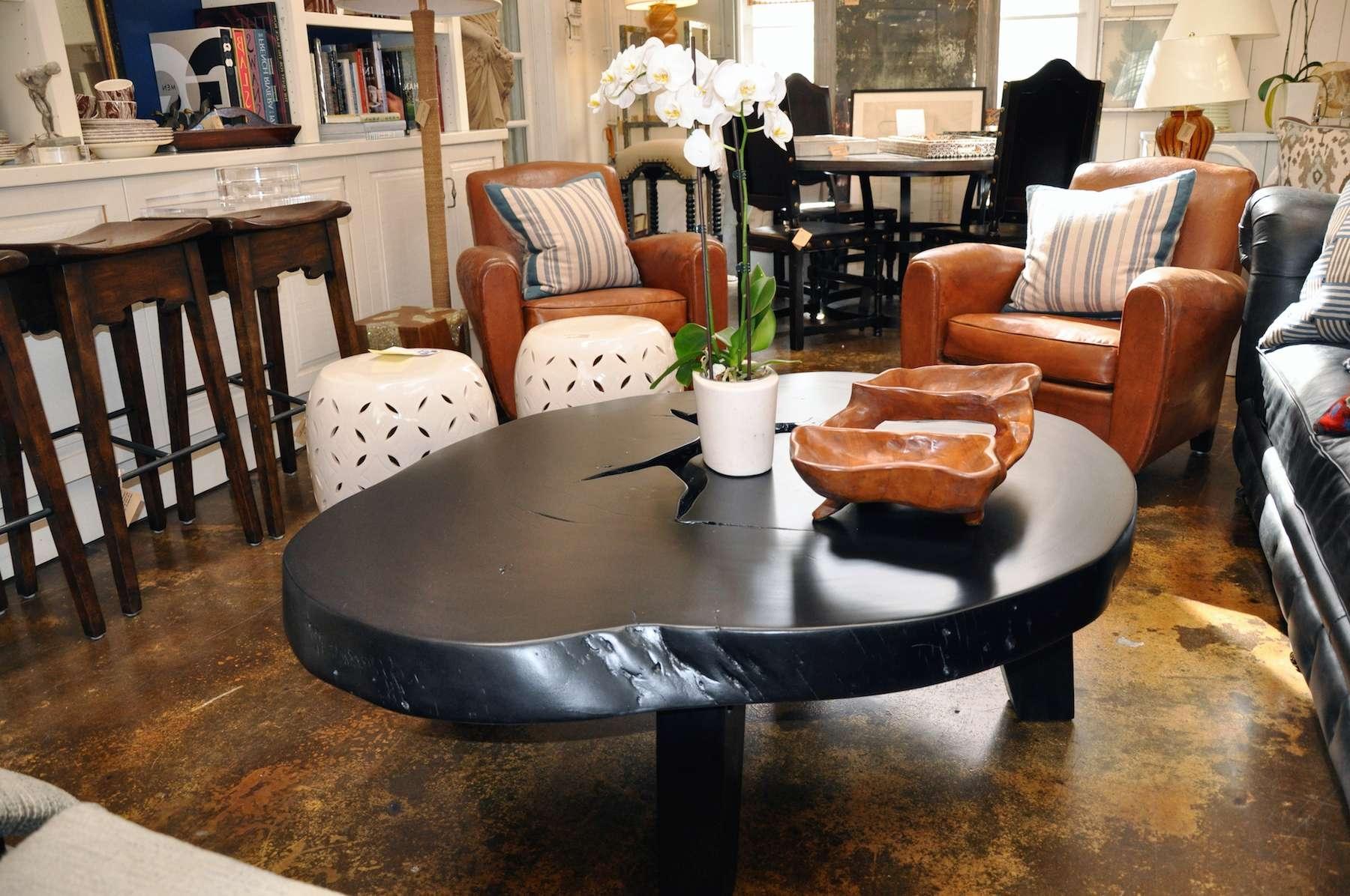 Free Form Albezia Wood Coffee Table – Mecox Gardens Regarding Popular Free Form Coffee Tables (View 15 of 20)