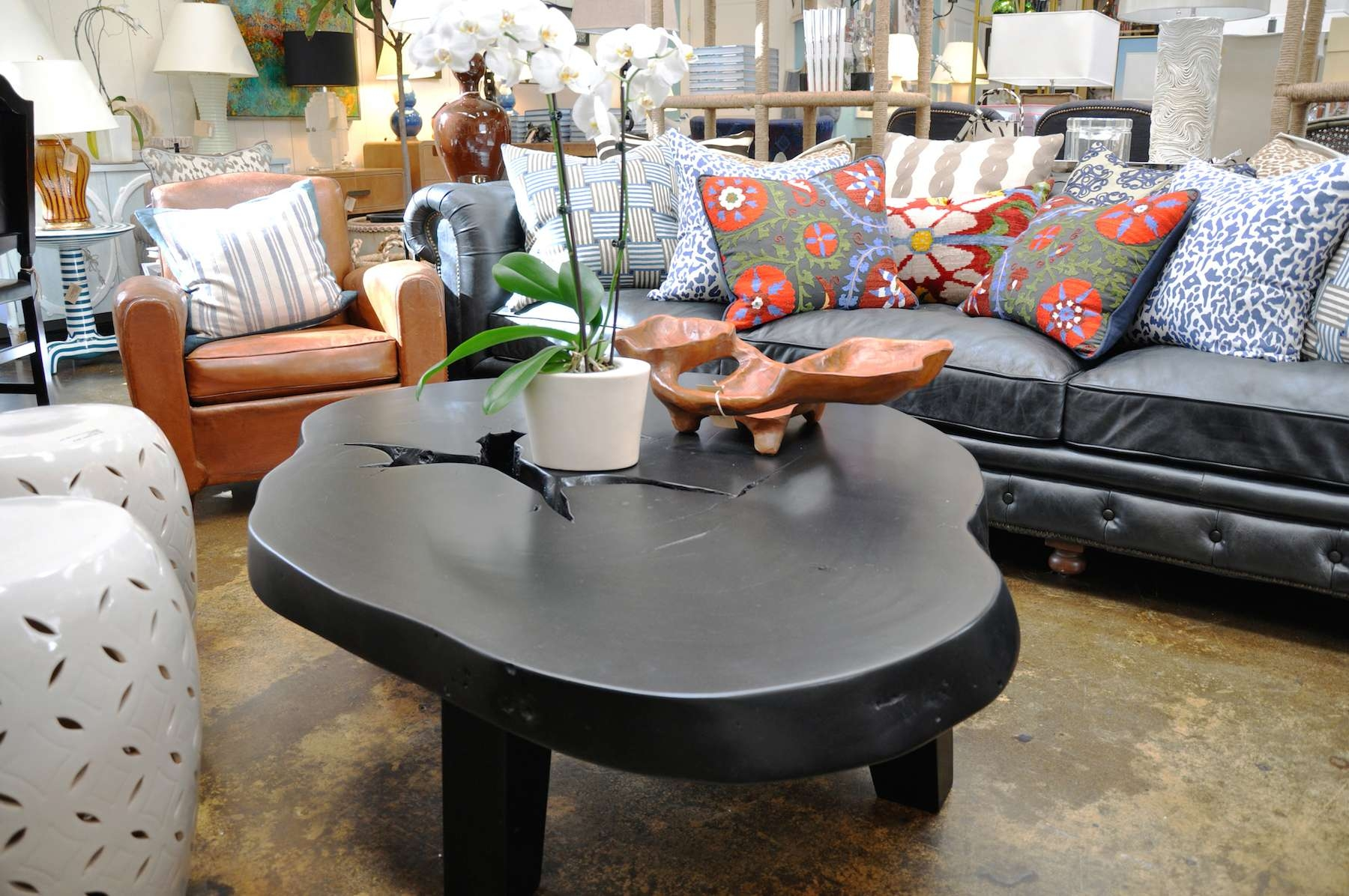 Free Form Albezia Wood Coffee Table – Mecox Gardens With Regard To Well Liked Free Form Coffee Tables (View 8 of 20)