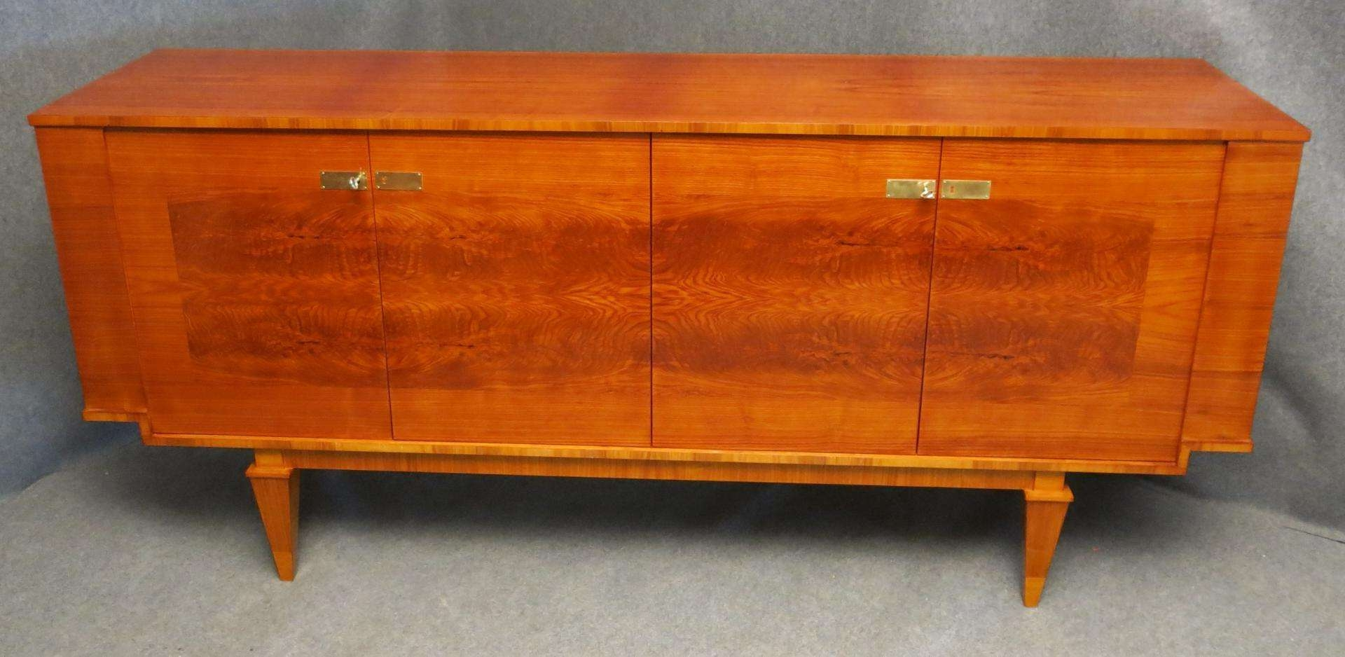 French Art Deco Sideboard, 1920s For Sale At Pamono Regarding Joop Sideboards (View 9 of 20)
