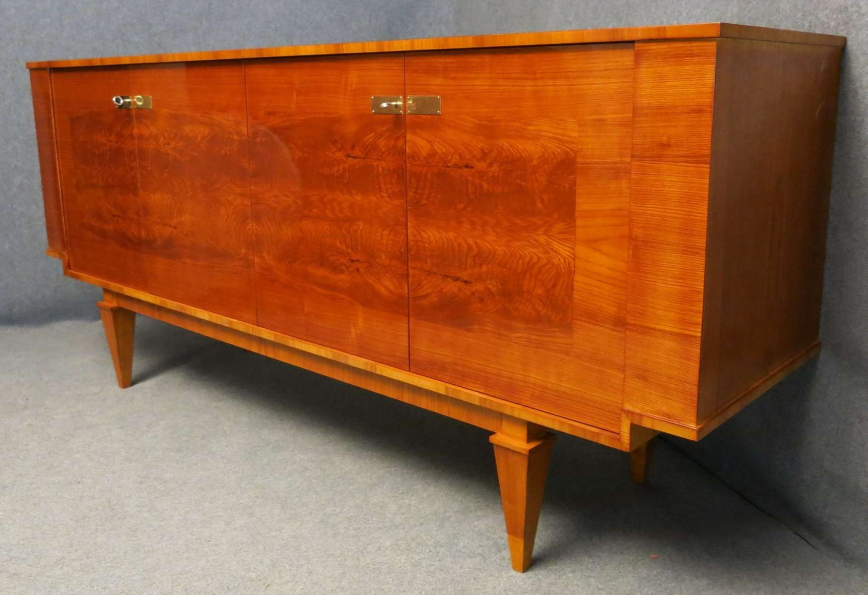 French Art Deco Sideboard, 1920s For Sale At Pamono Throughout Art Deco Sideboards (View 8 of 20)
