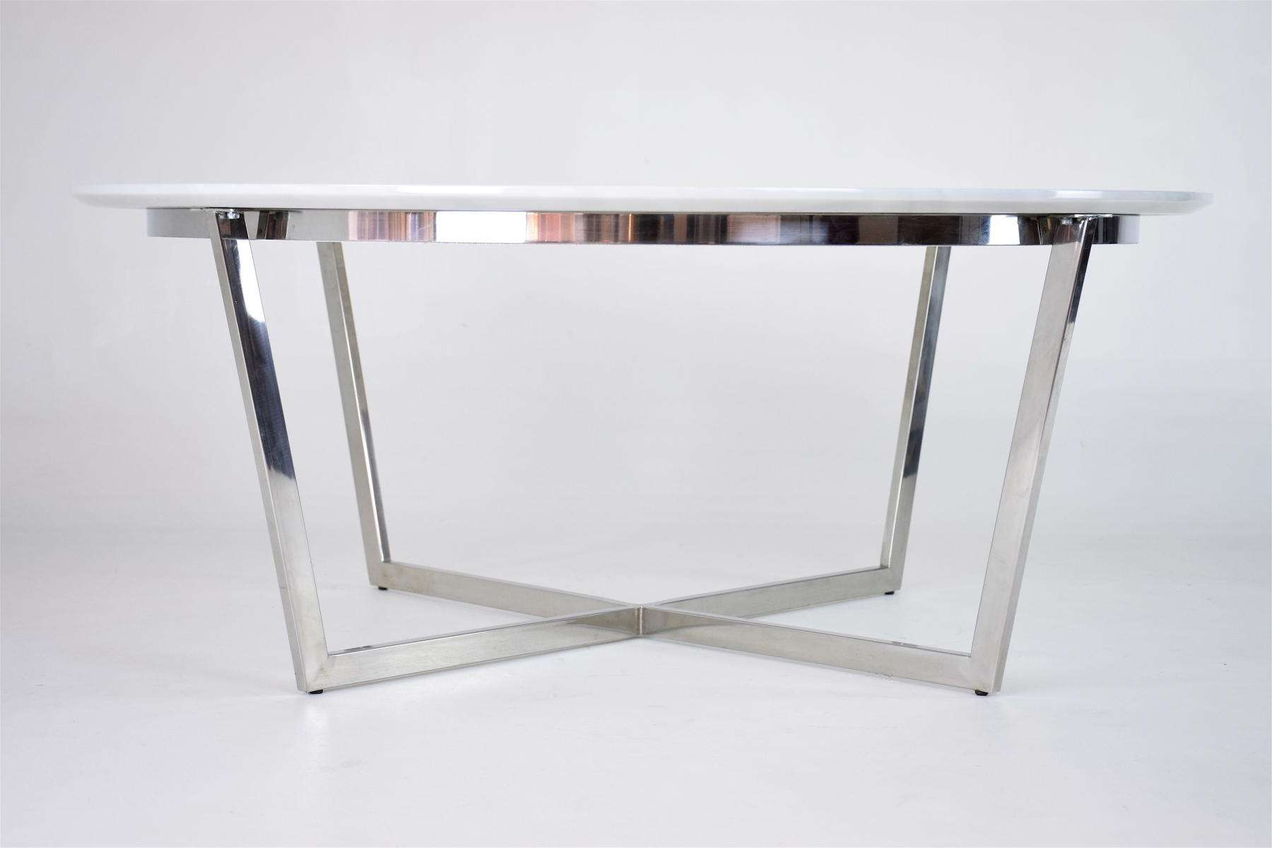 French Coffee Table, 1970S For Sale At Pamono For Widely Used White French Coffee Tables (View 7 of 20)