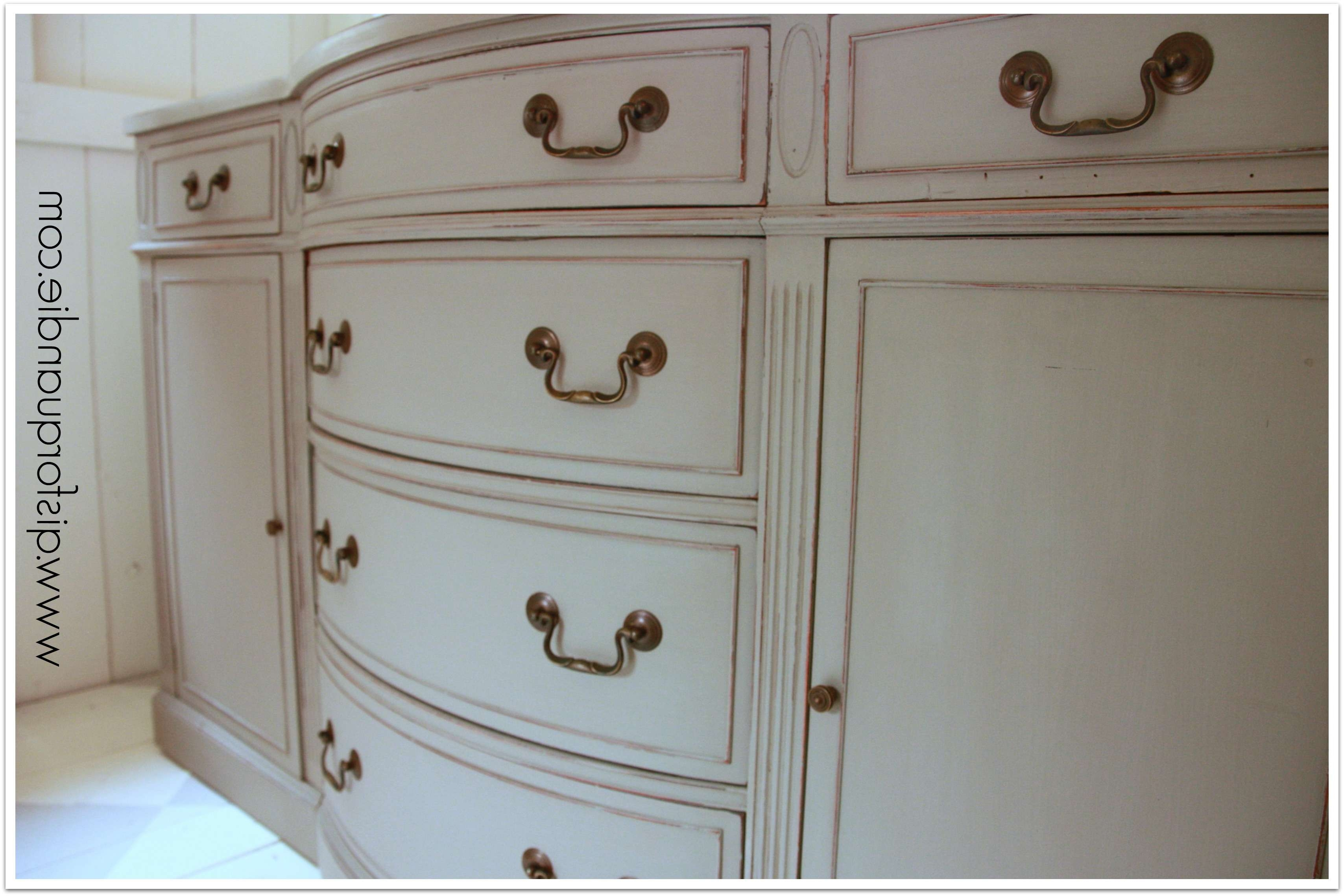 French Linen Sideboard (View 6 of 20)