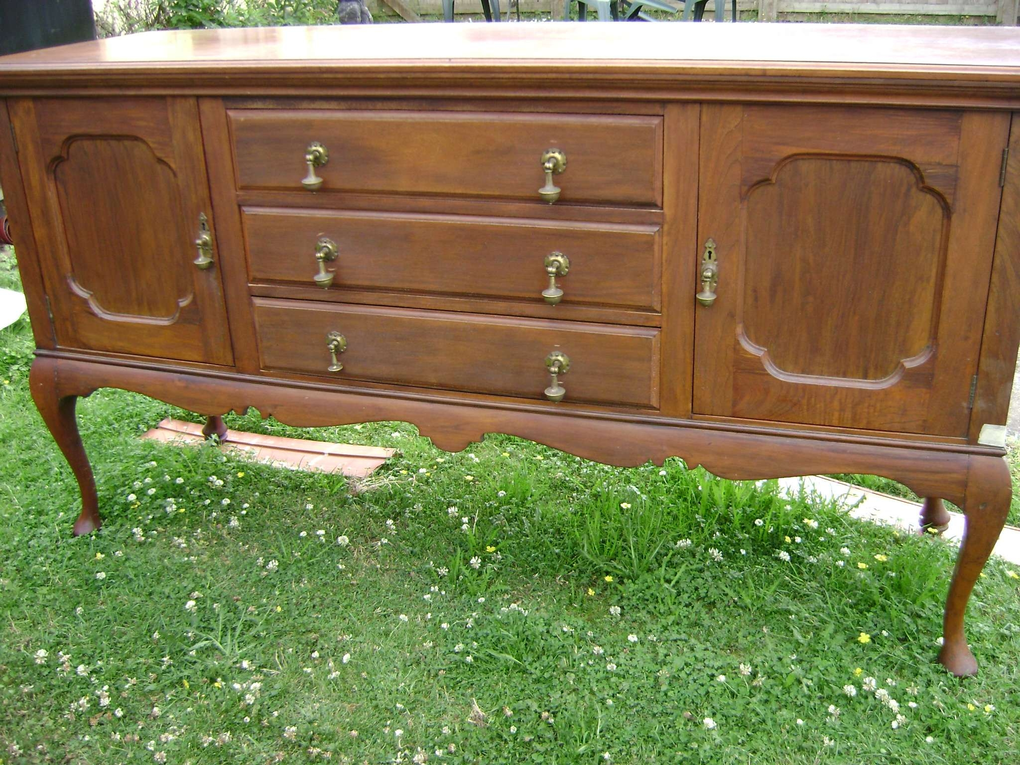 French Style Sideboard | The Barrister's Horse Throughout Annie Sloan Painted Sideboards (View 7 of 20)