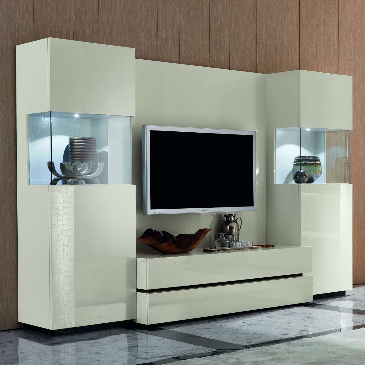 Fresh Austin Modern Tv Stand Cream #16209 Inside Cream Tv Cabinets (View 5 of 20)