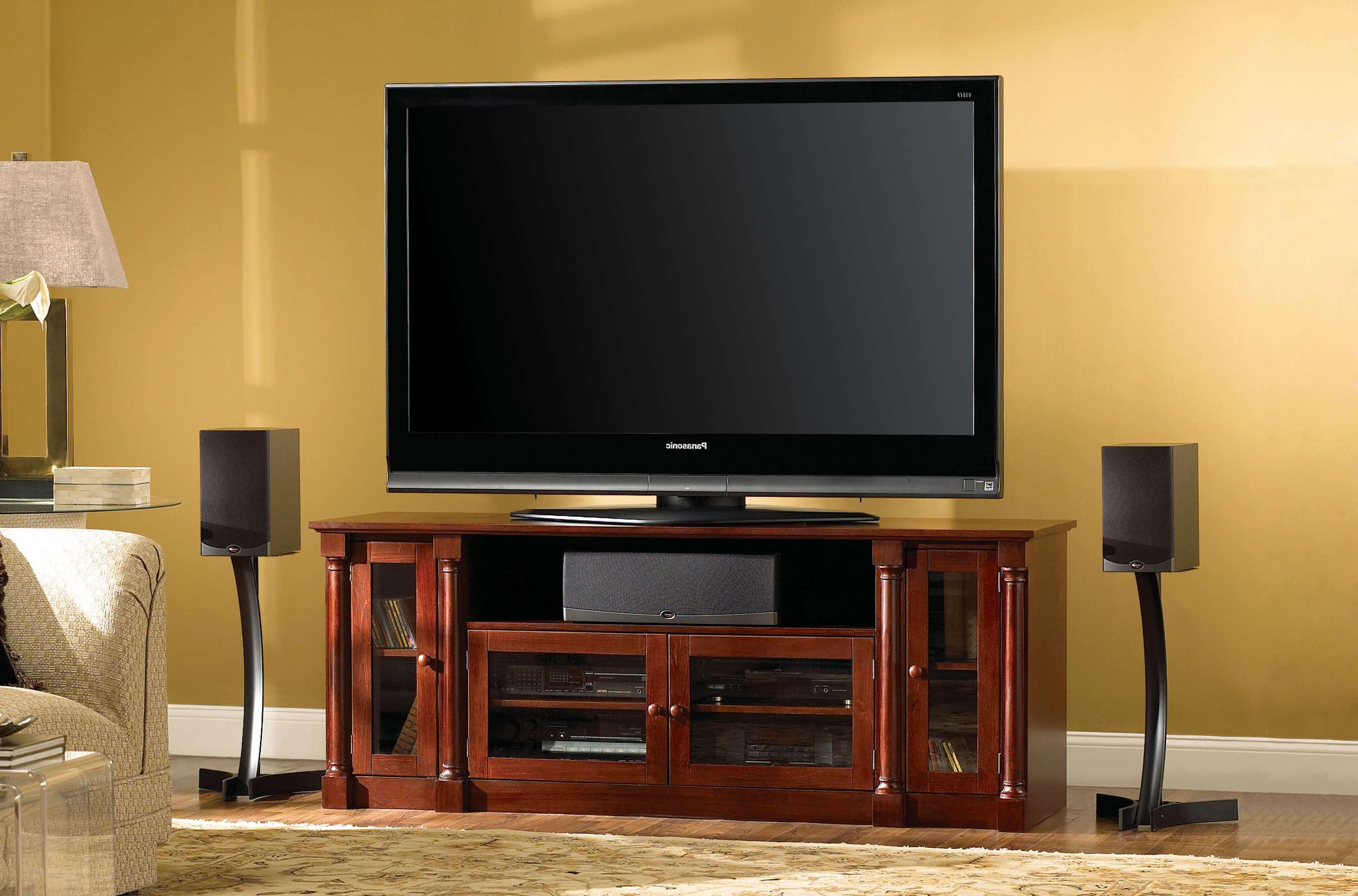 Fresh Cheap Cherry Wood Tv Stands Cabinets #17103 With Regard To Traditional Tv Cabinets (View 4 of 20)