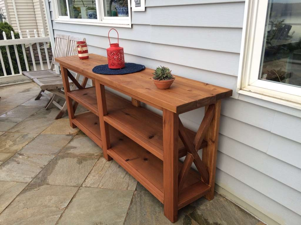 Functionality And Aesthetics Outdoor Sideboard Kitchen | Wood In Outdoor Sideboards With Console Table (View 15 of 20)