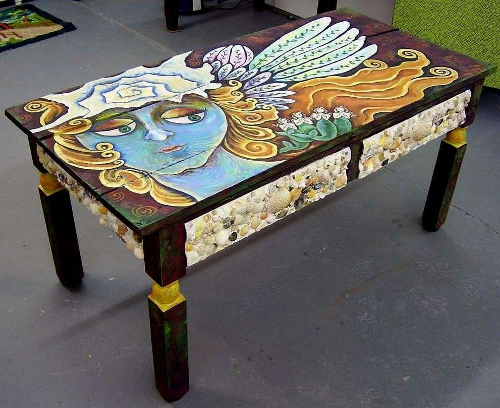 Funky Coffee Table / Coffee Tables / Thippo Regarding Well Known Art Coffee Tables (View 11 of 20)