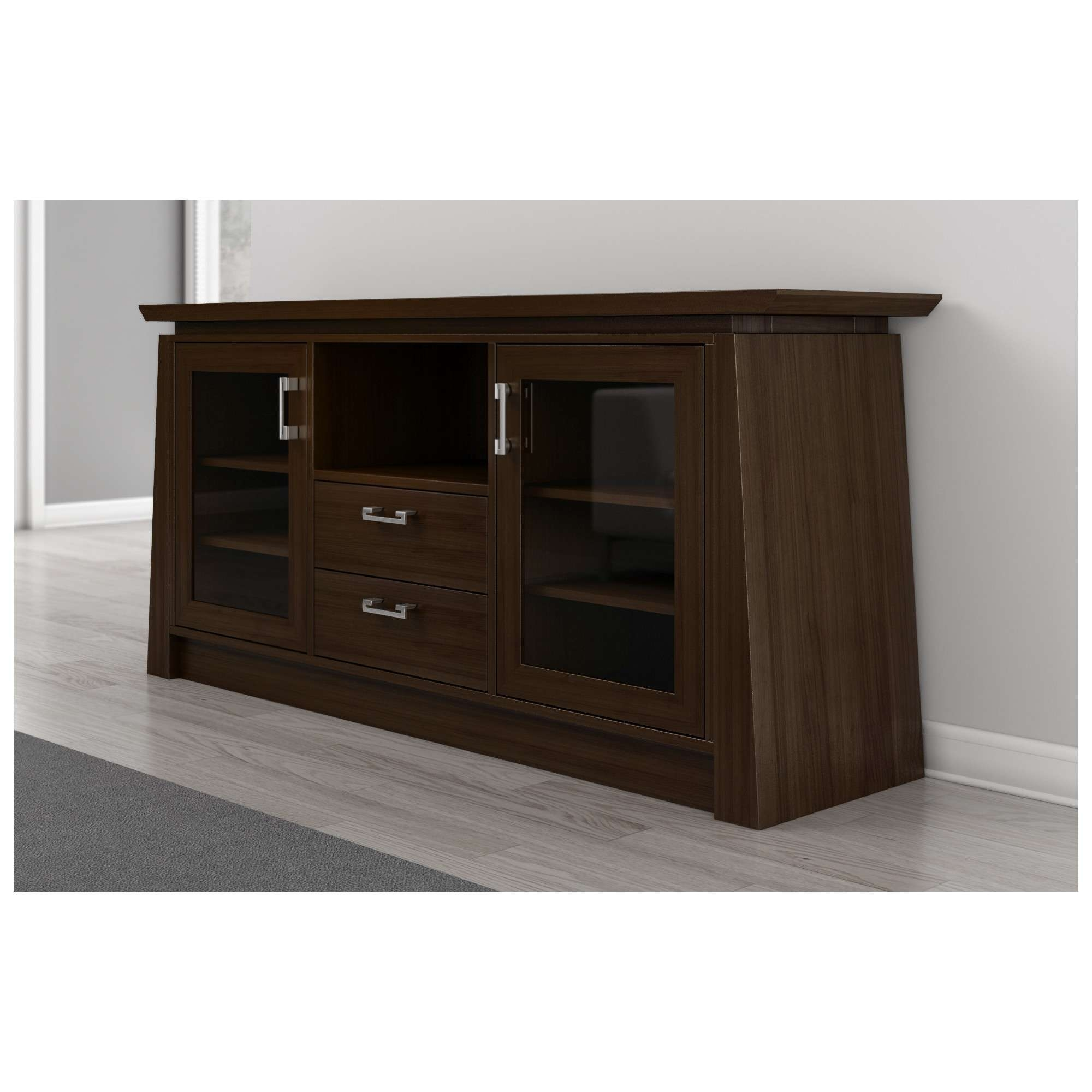 "Furnitech Elegante 70"" Tv Stand Asian Style Media Cabinet W Inside Asian Tv Cabinets (View 6 of 20)"