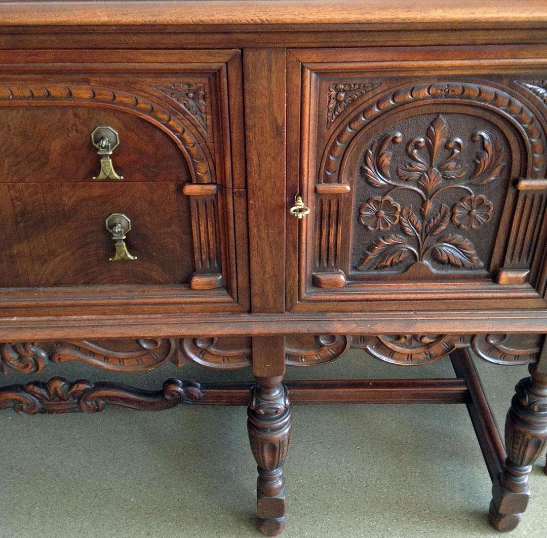 Furniture 1920s Pertaining To Jacobean Sideboards Buffets (View 11 of 20)