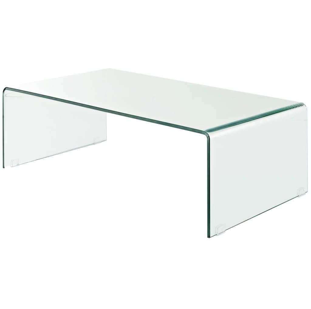 Furniture: Astonishing Round Glass Coffee Table Design – Selecting Regarding Best And Newest Solid Glass Coffee Tables (View 10 of 20)