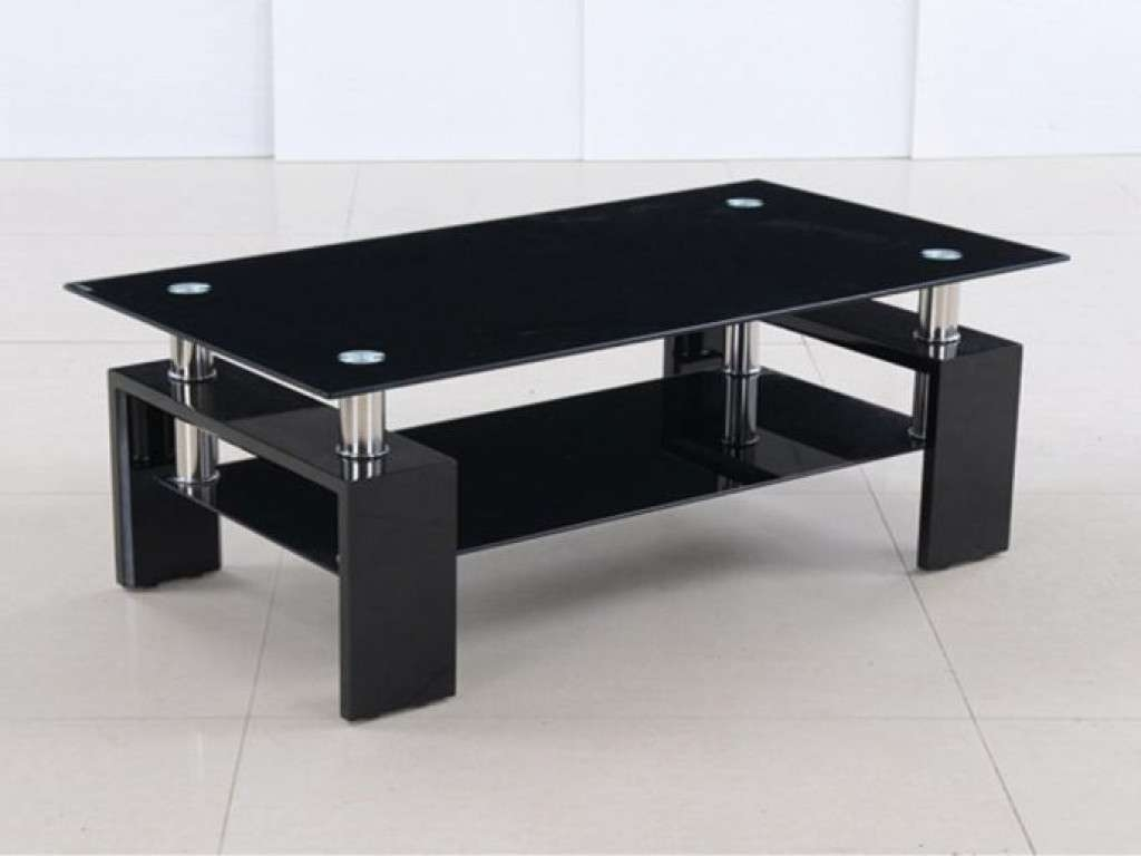 Furniture: Black Glass Coffee Table Best Of Black Glass Coffee Within Latest Nice Coffee Tables (View 17 of 20)