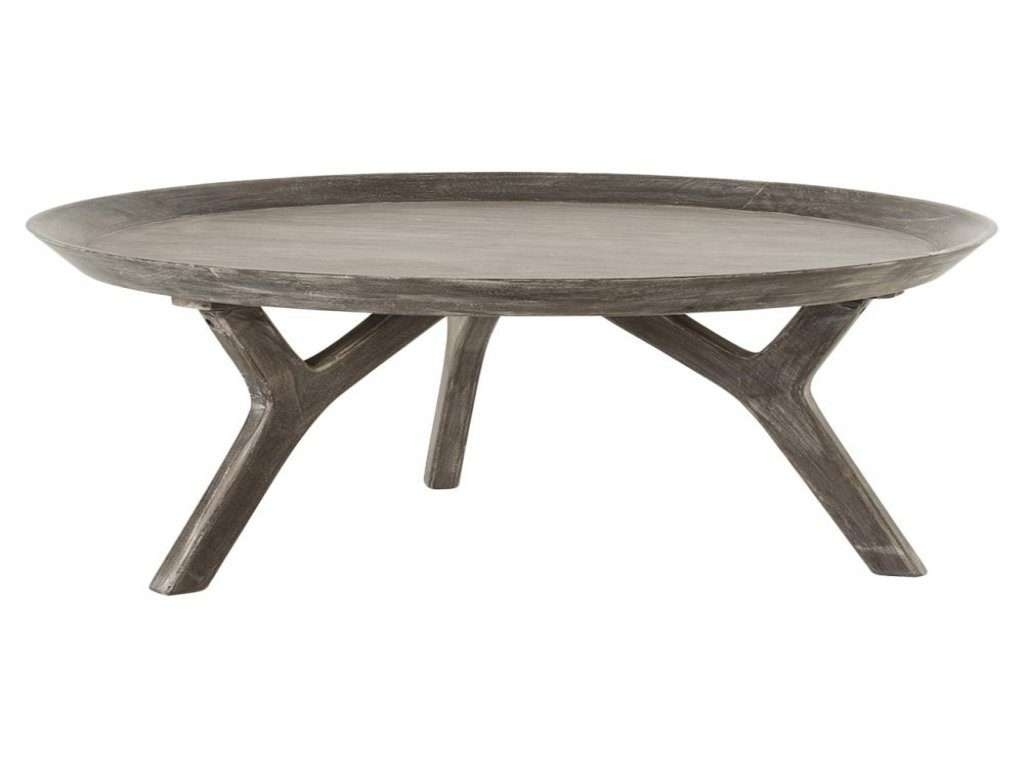 Furniture: Grey Wood Coffee Table Elegant Rayvon Rustic Grey Wood With Latest Round Tray Coffee Tables (View 7 of 20)