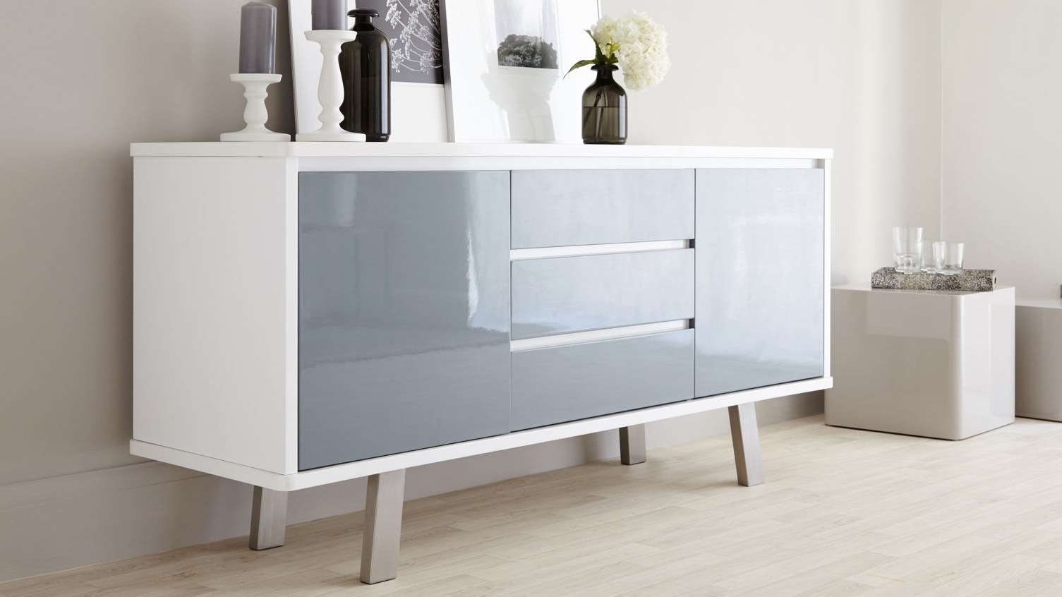 Furniture: Mid Century Modern Sideboard For Inspiring Interior With Elegant Sideboards (View 3 of 20)