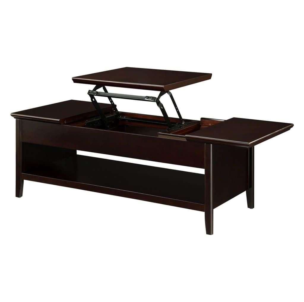 Furniture: Nice Wooden Coffee Table With Extendable Top Intended For Best And Newest Coffee Tables Extendable Top (View 11 of 20)
