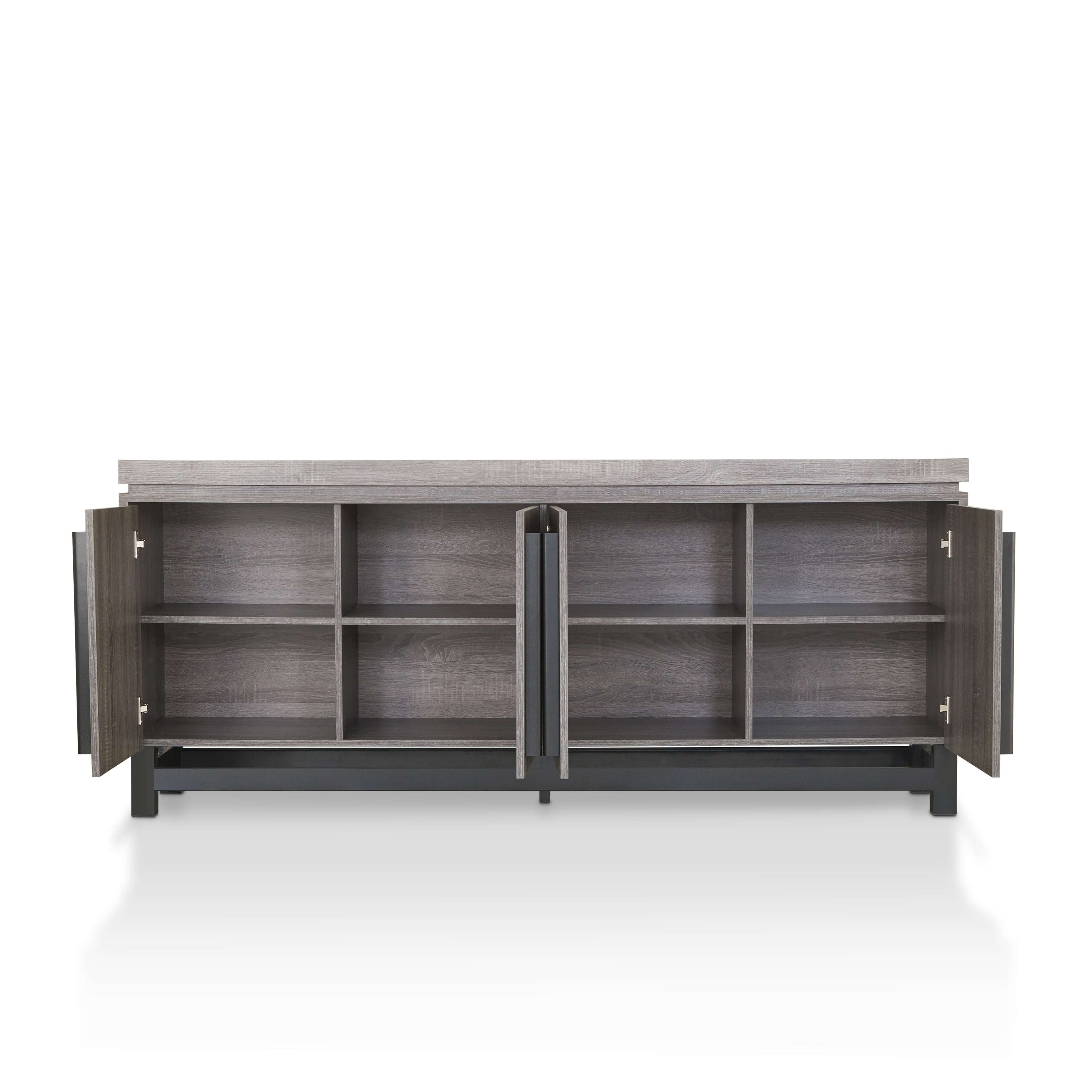 Furniture Of America Sonova Modern 70 Inch Buffet Cabinet – Free Pertaining To 70 Inch Sideboards (View 20 of 20)