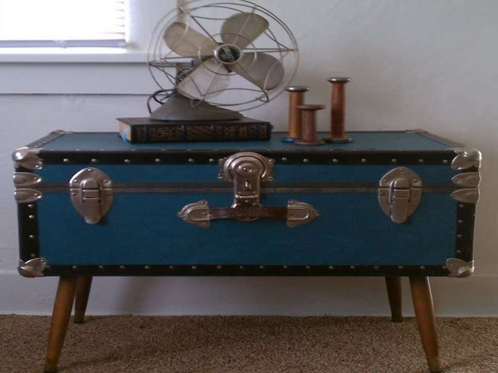 Furniture: Steamer Trunk Coffee Table New 25 Best Ideas About Old Inside Most Up To Date Old Trunks As Coffee Tables (View 8 of 20)