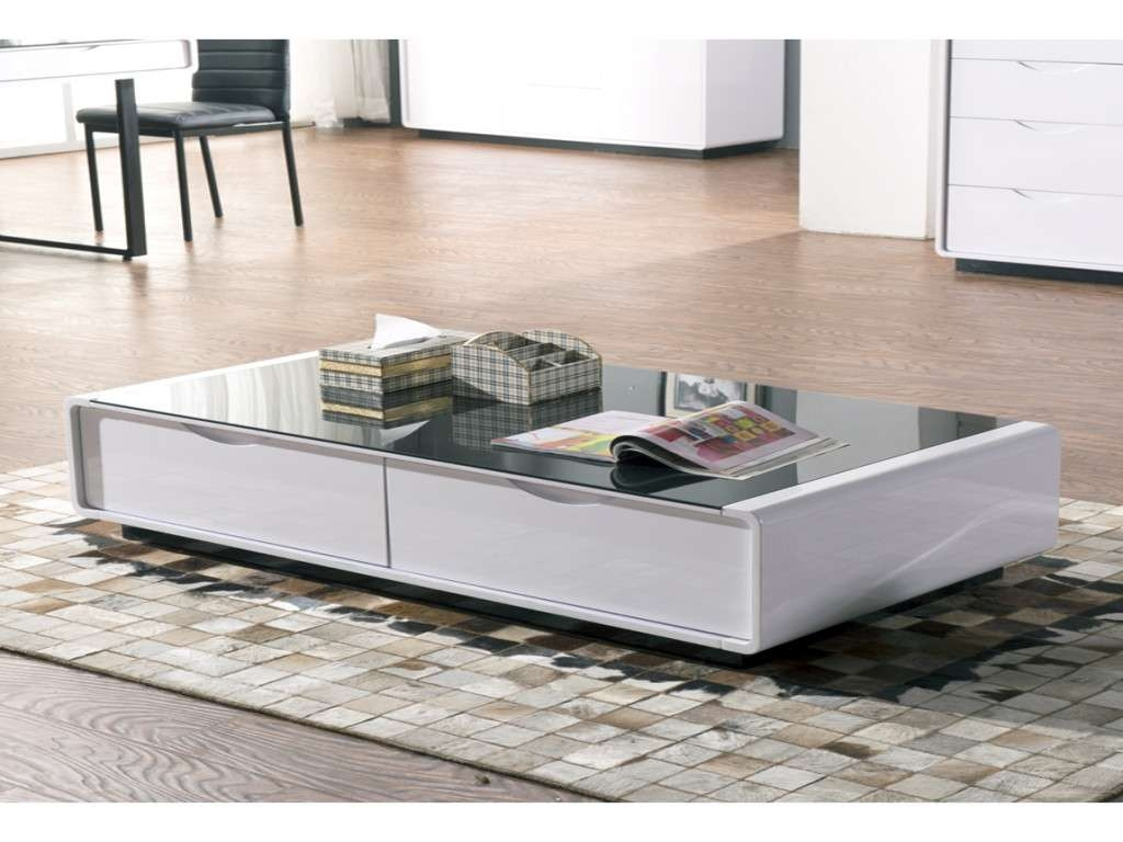 Furniture: White Gloss Coffee Table Unique Coffee Table White High With Favorite White High Gloss Coffee Tables (View 15 of 20)