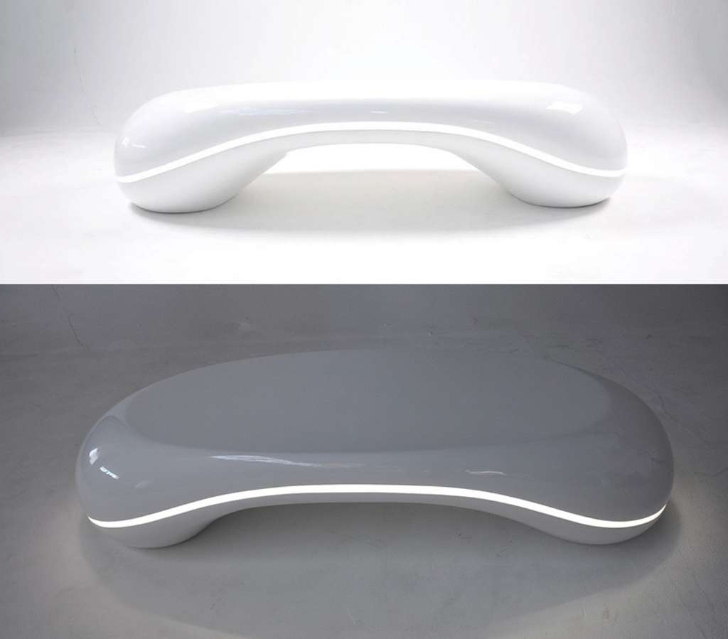 Furniture: White With Led Strip Funky Coffee Tables – 49 Unique With Favorite Funky Coffee Tables (View 11 of 20)