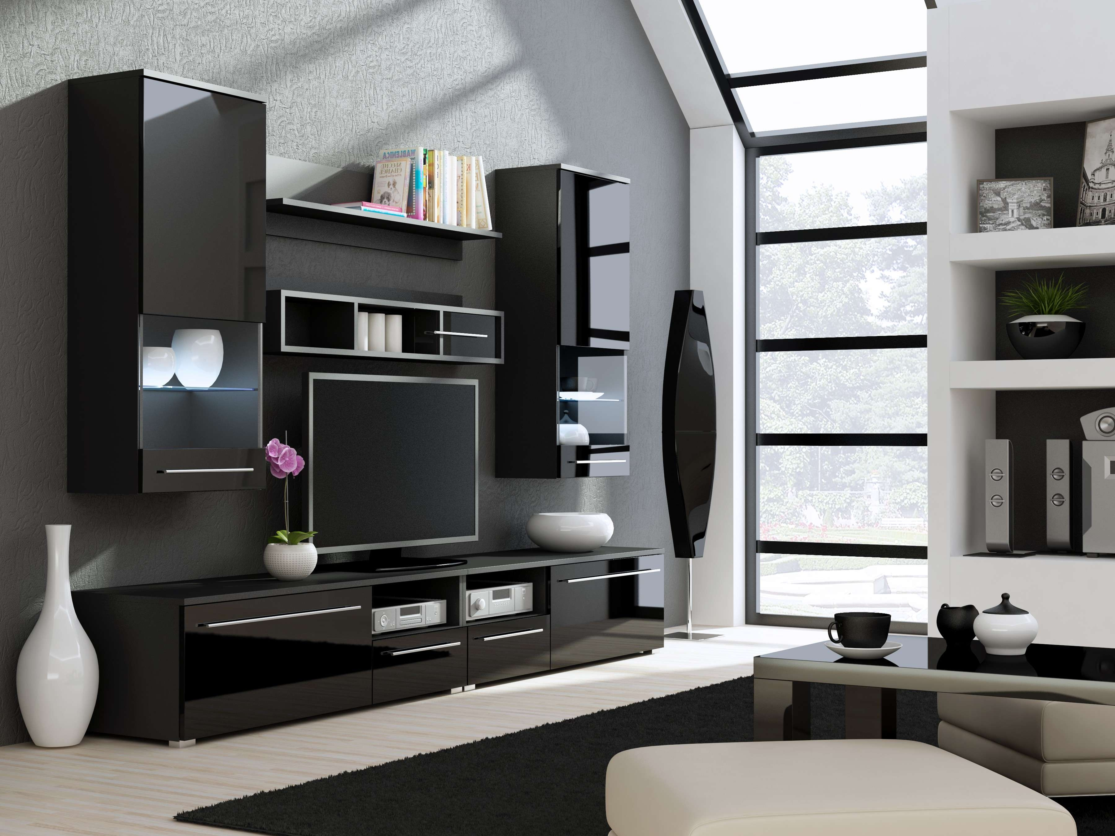 Furniture: Window Treatments And Design For Living Room Tv Cabinet For Living Room Tv Cabinets (View 9 of 20)