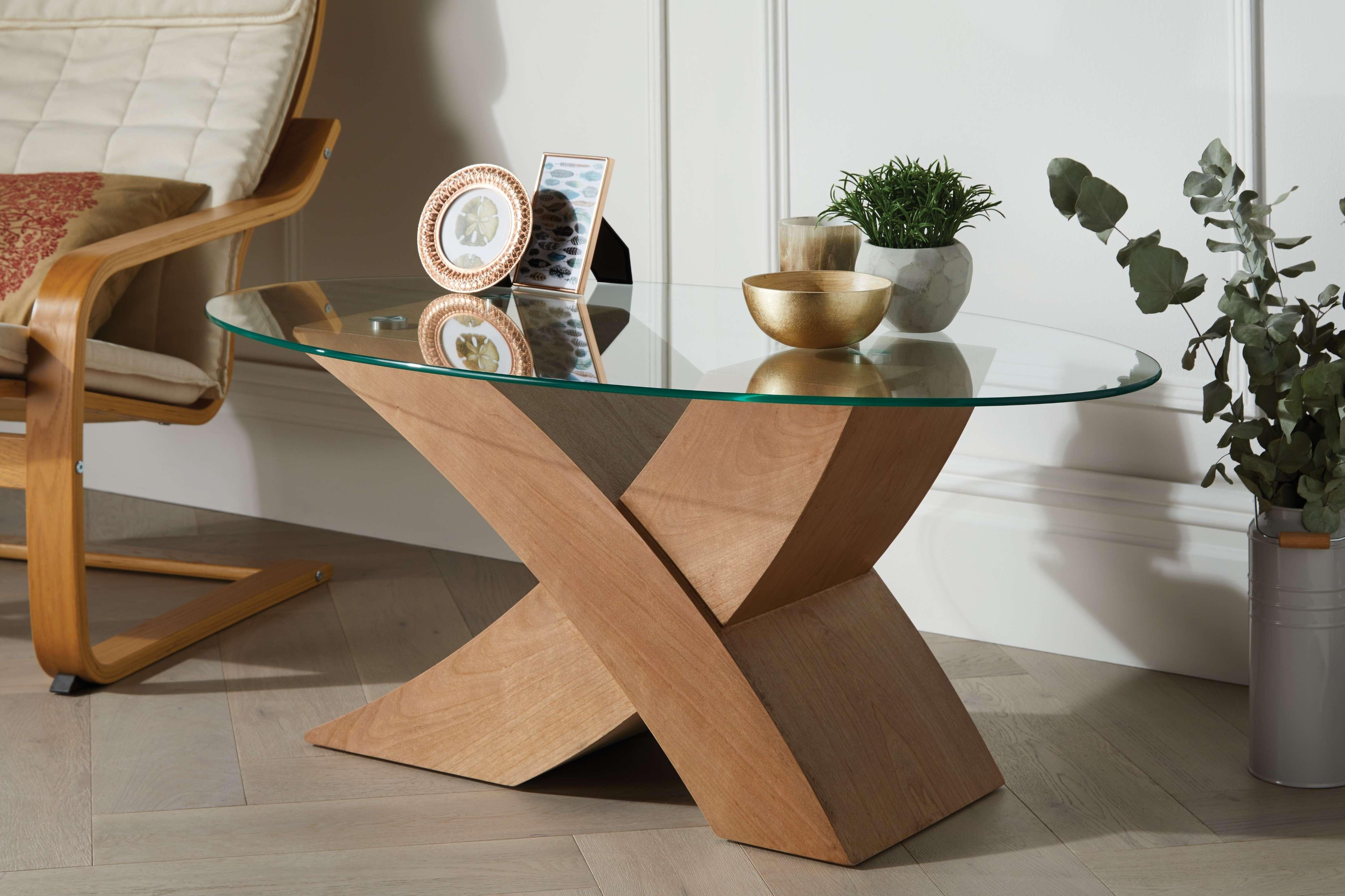 Furniturebox Pertaining To Popular Oak Veneer Coffee Tables (View 8 of 20)