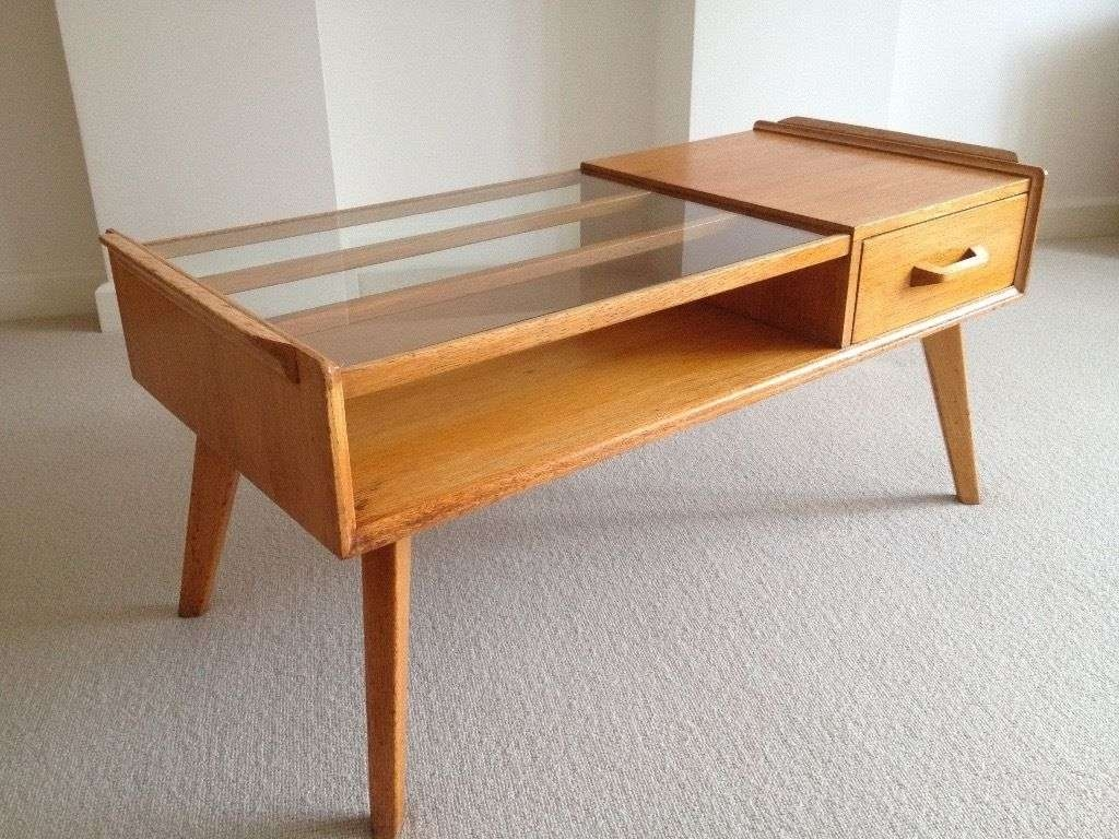 G Plan Retro Vintage 50S Brandon E Gomme Oak Coffee Table–Very For Most Up To Date Retro Oak Coffee Tables (View 10 of 20)
