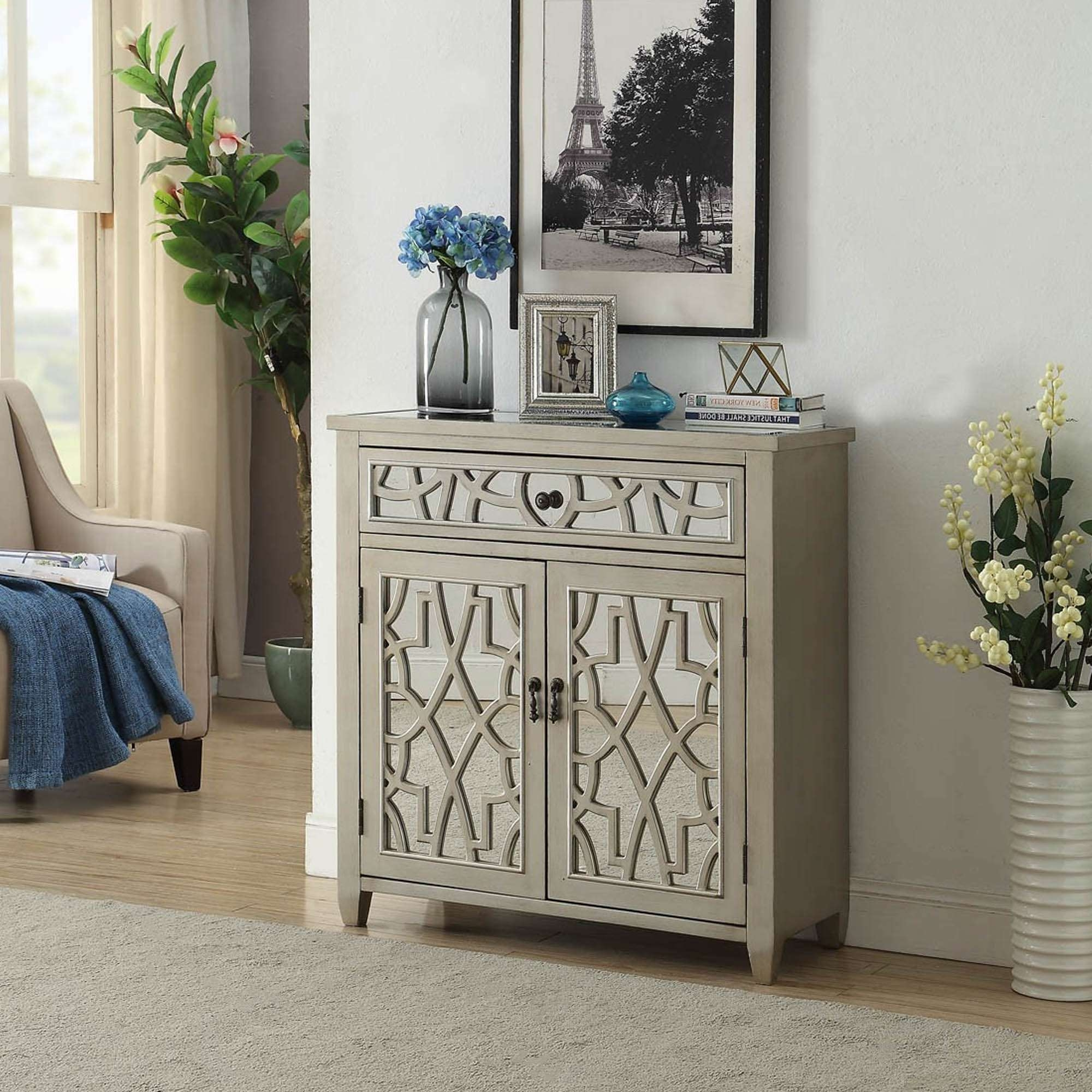 Gallo Mirrored Sideboard | Sideboard | Homesdirect365 In Mirror Sideboards (View 5 of 20)