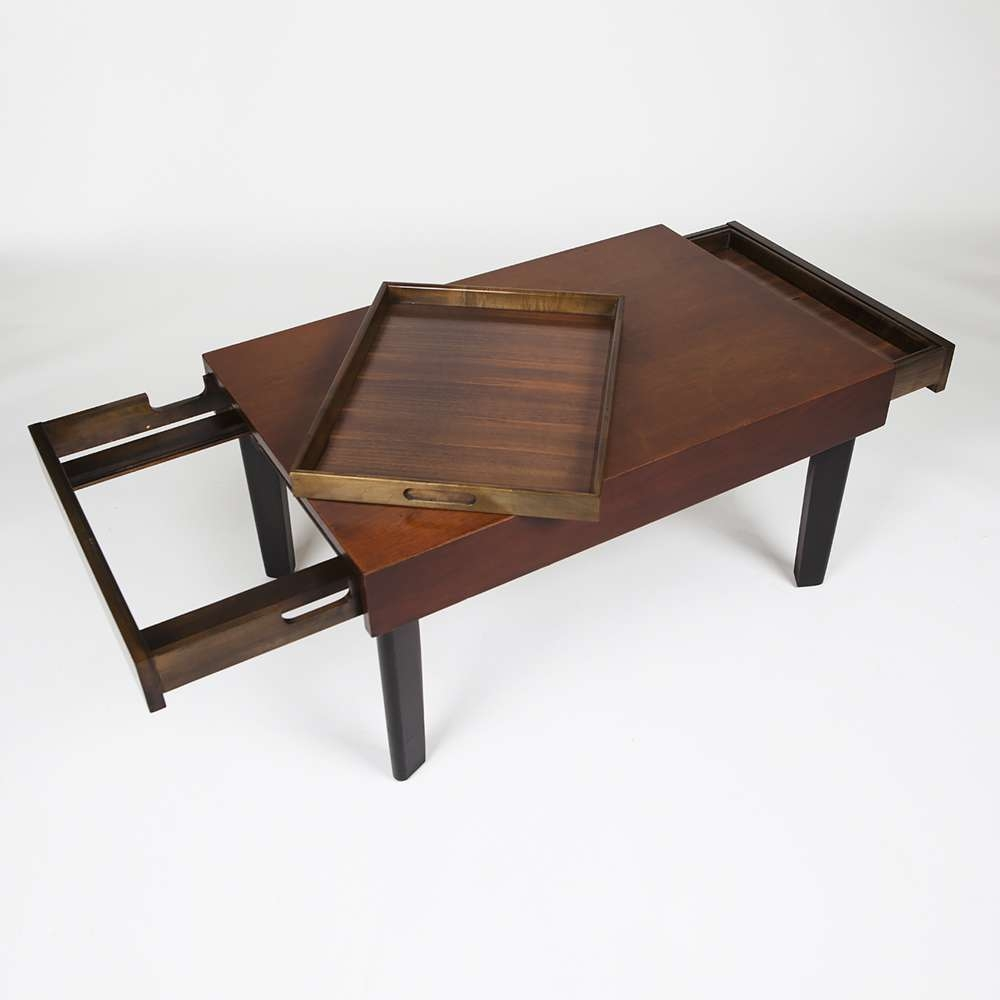 George Nelson Extension Coffee Table At City Issue Atlanta Regarding Current Nelson Coffee Tables (View 7 of 20)