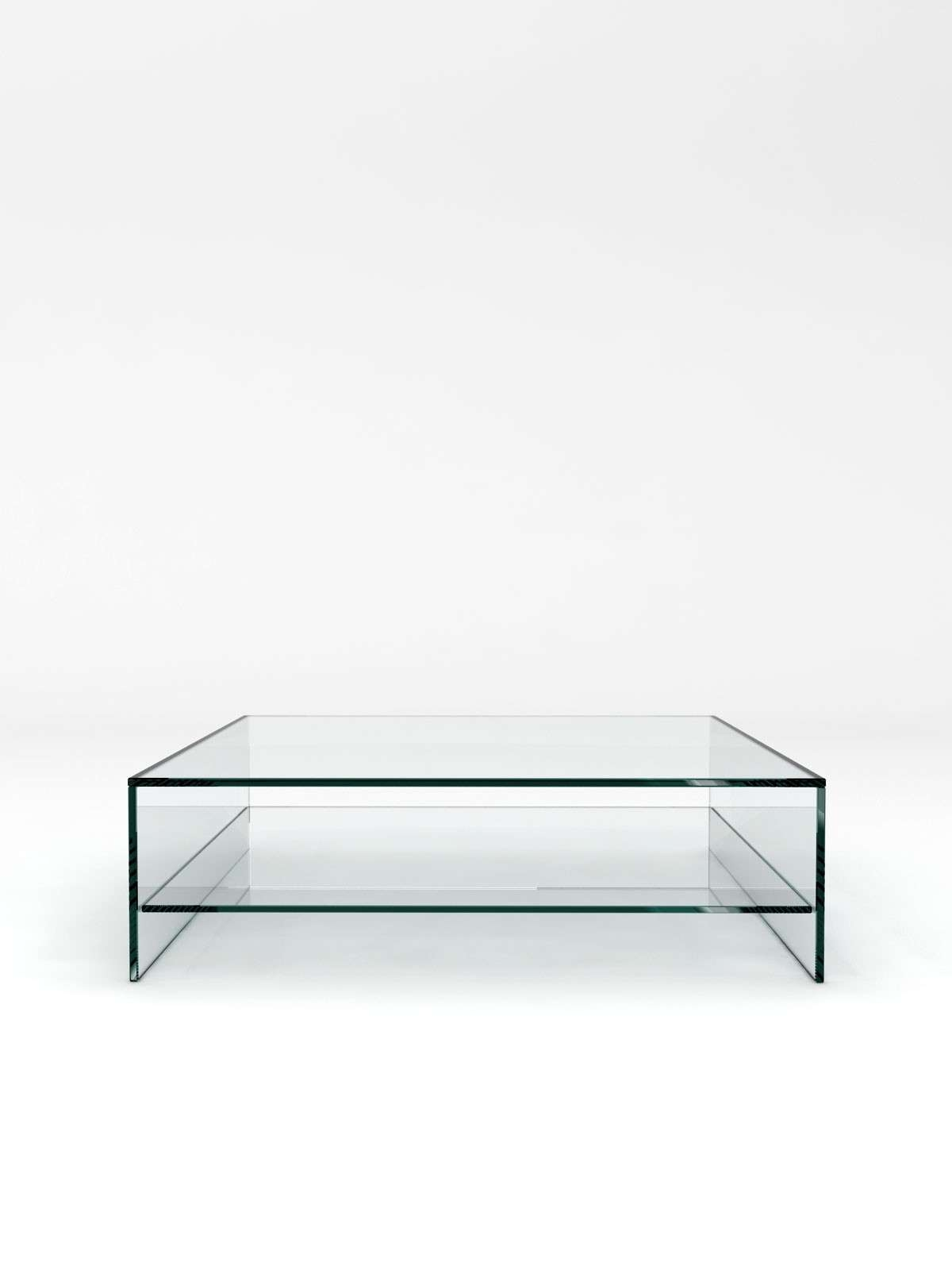 Glass Coffee Table With Shelf With Regard To Most Recently Released Glass Coffee Tables With Shelf (View 8 of 20)