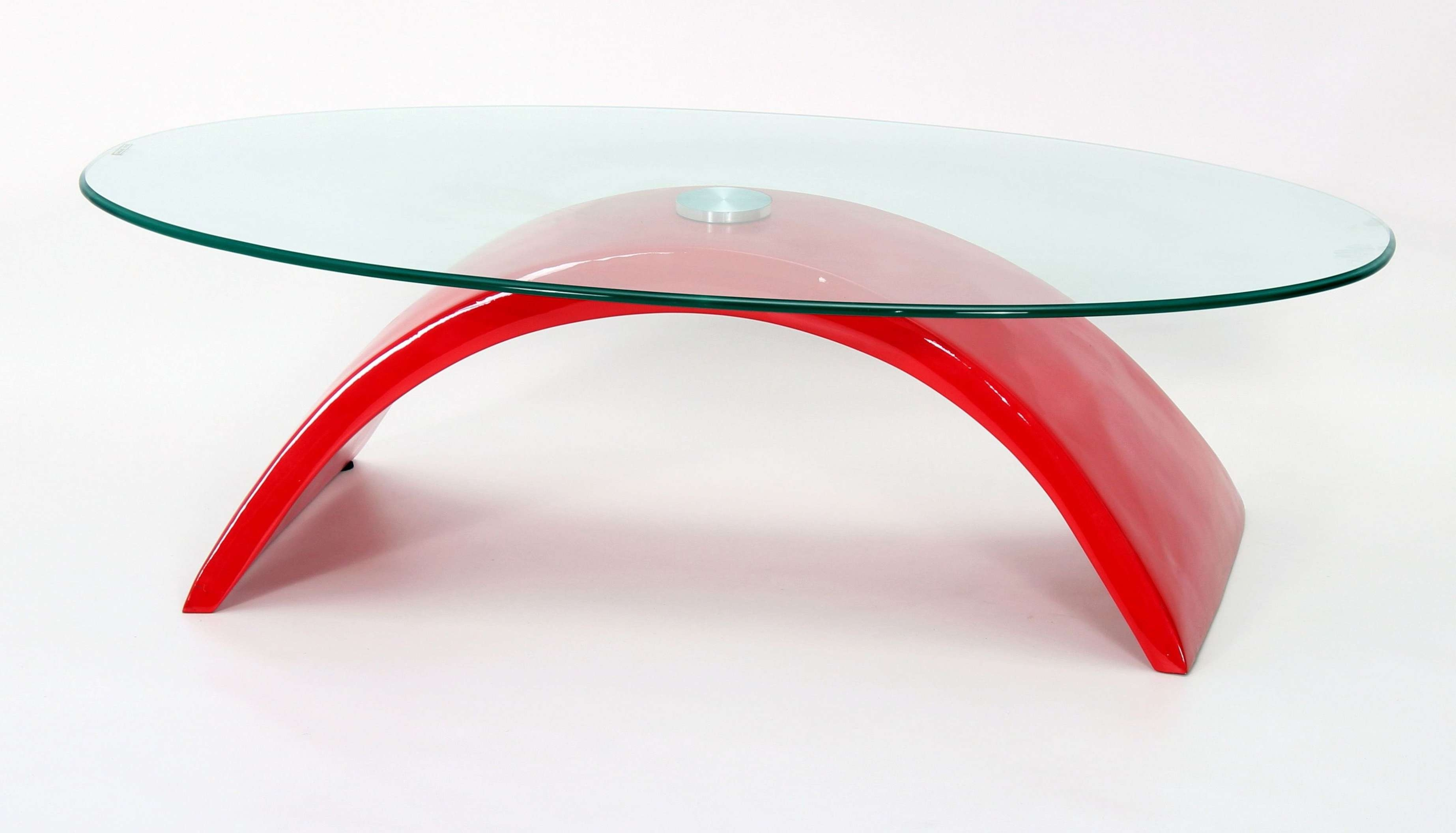 Glass Coffee Tables: Breathtaking Low Glass Coffee Table In Trendy Red Gloss Coffee Tables (View 10 of 20)