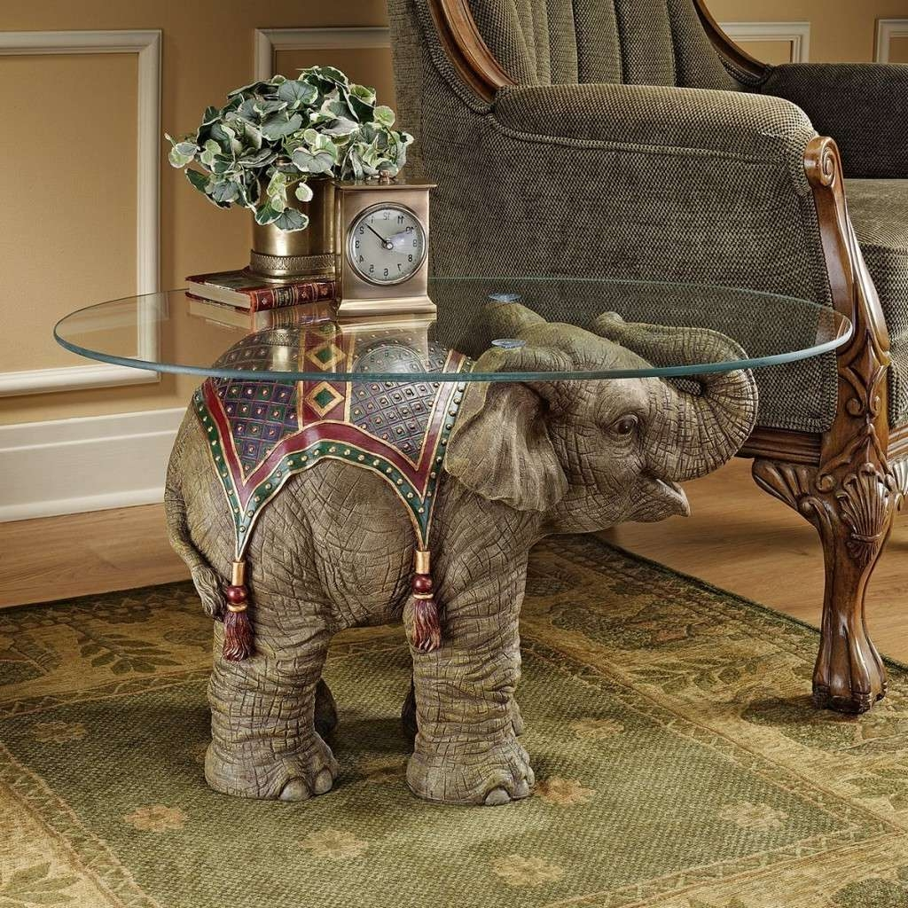 Glass : Elephant Glass Coffee Table Idi Design Elephant Table With Most Recent Buddha Coffee Tables (View 13 of 20)