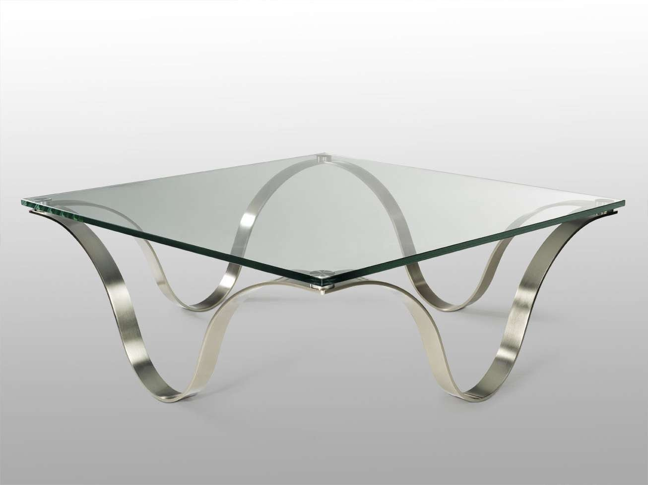 Glass Metal Coffee Table Coffee Table And Matching Console End Pertaining To 2018 Coffee Tables Glass And Metal (View 13 of 20)