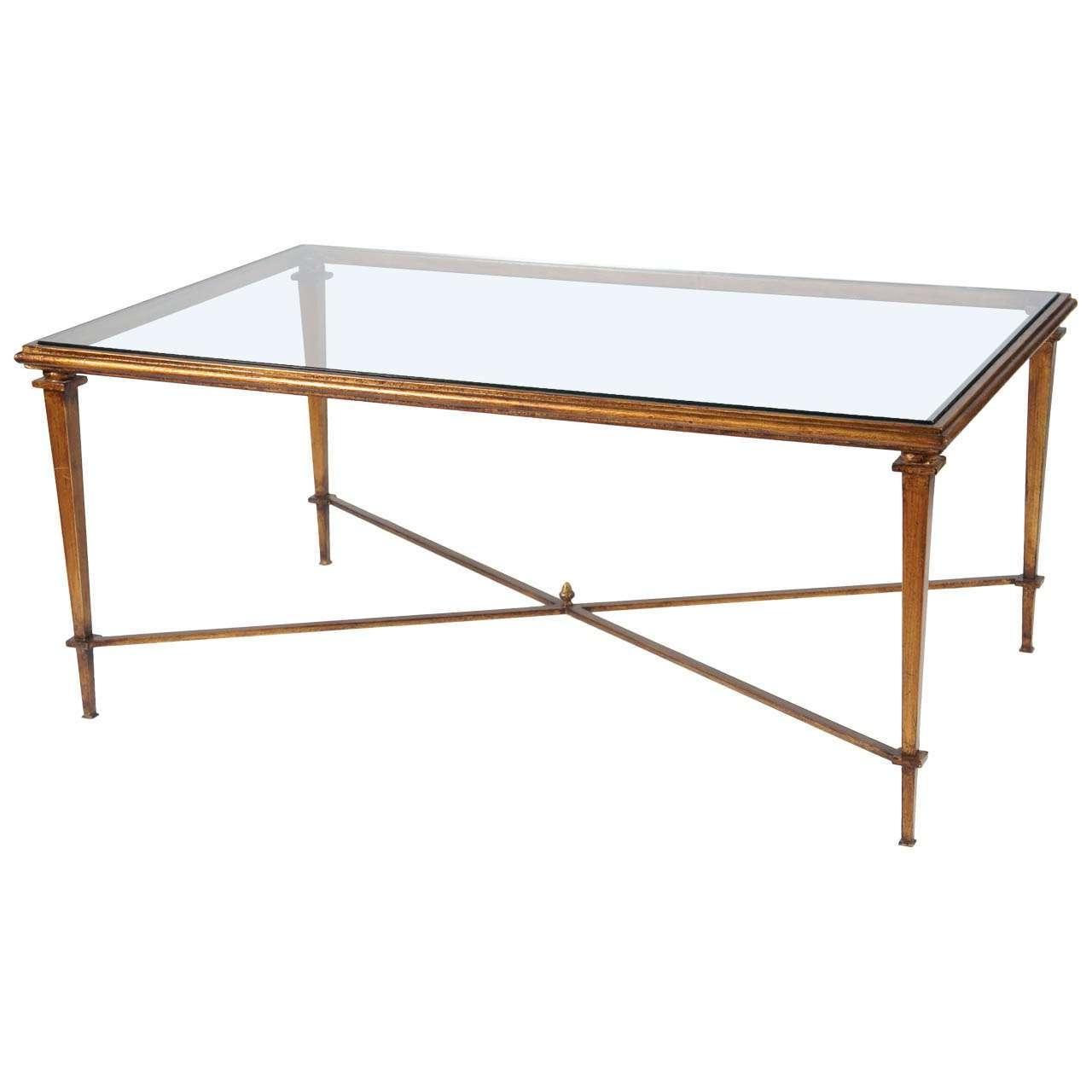 Glass Metal Coffee Table – Writehookstudio With 2018 Glass And Metal Coffee Tables (View 12 of 20)