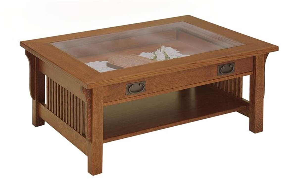 Featured Photo of Glass Top Storage Coffee Tables